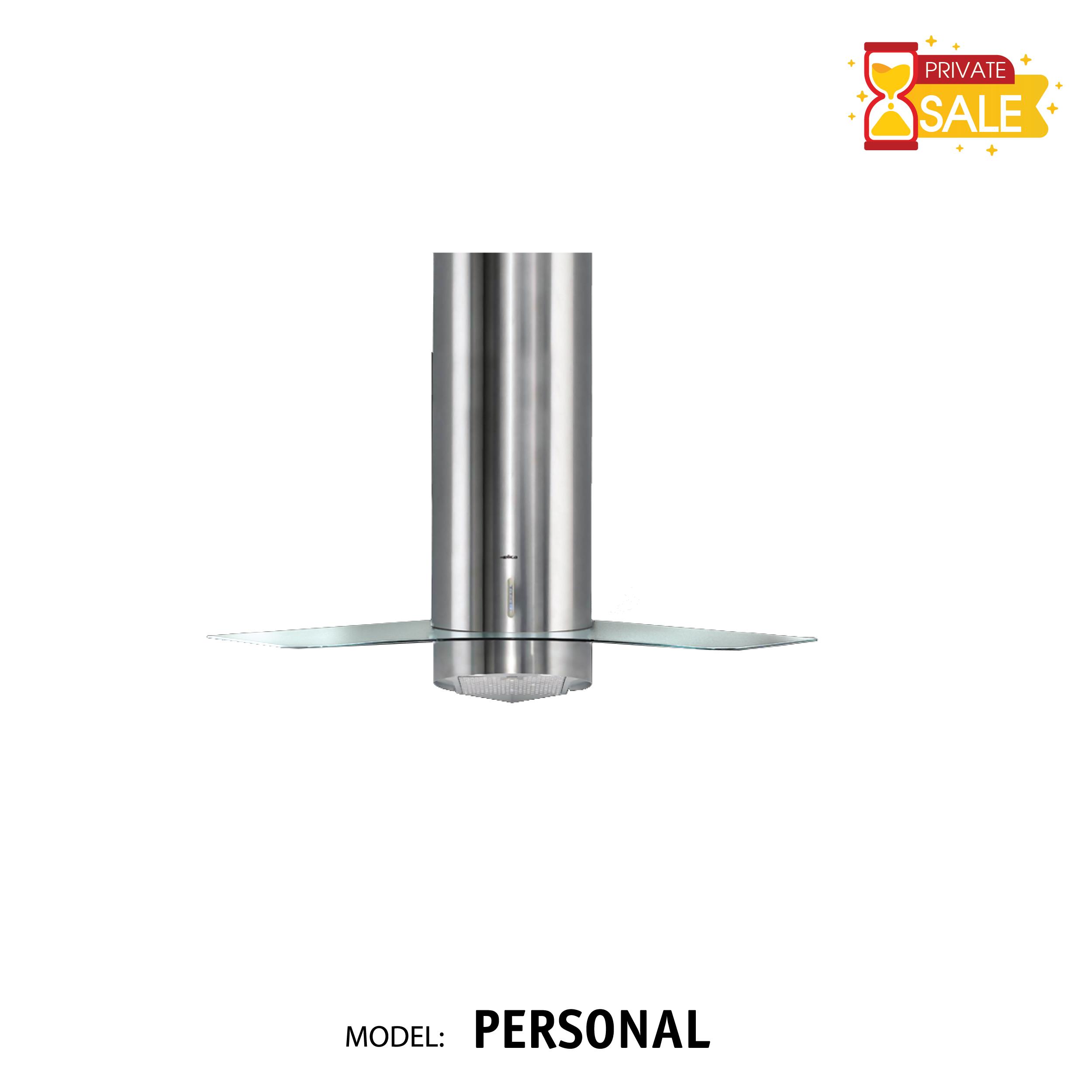 Máy hút mùi đặt góc Elica - Model PERSONAL