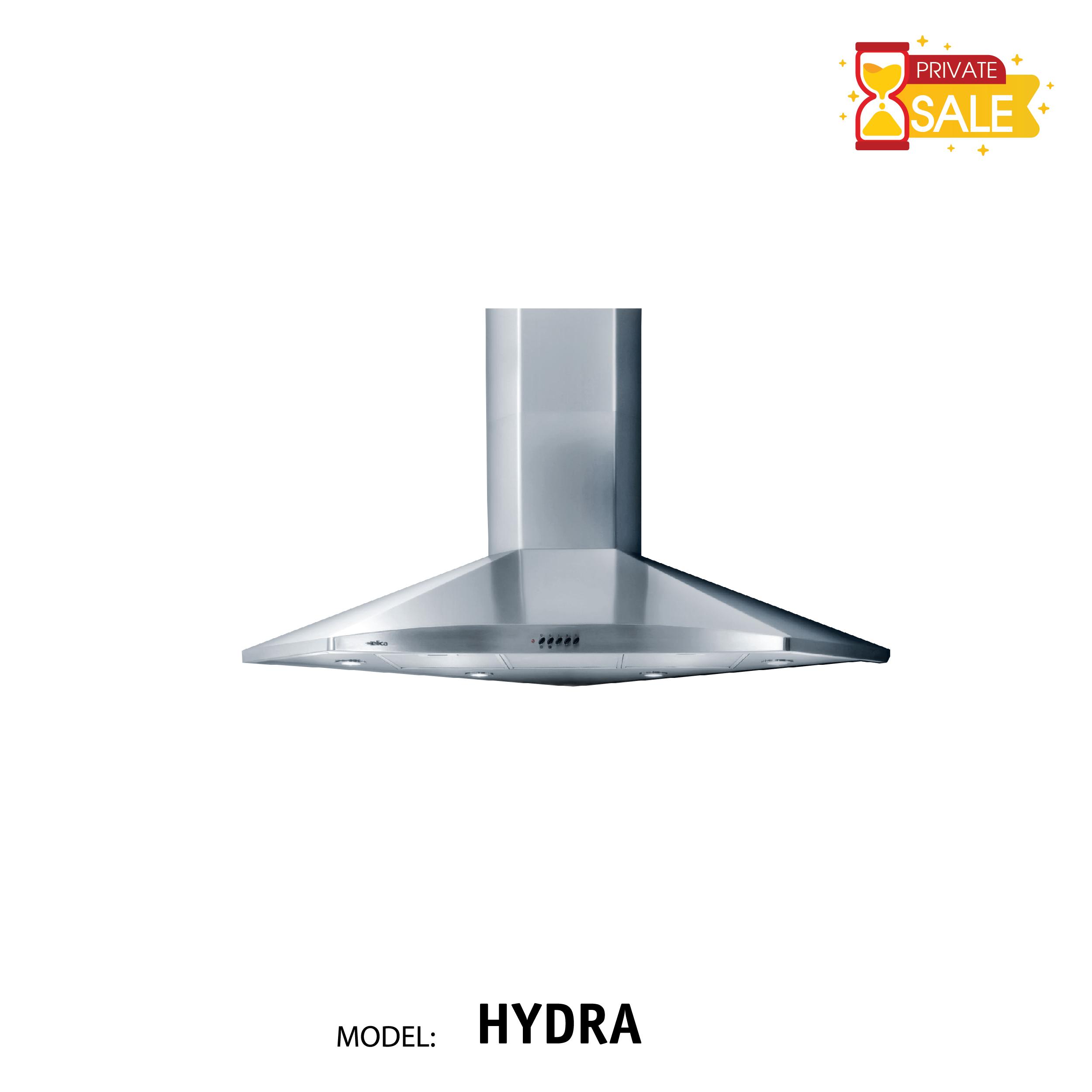 Máy hút mùi đặt góc Elica - Model HYDRA