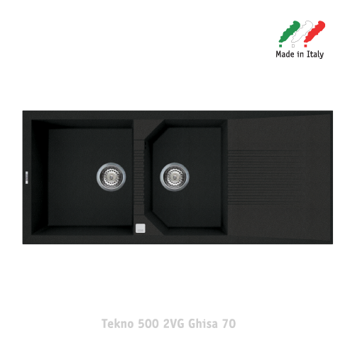 Chậu đá Elleci - Model Tekno 5002VG Ghisa70