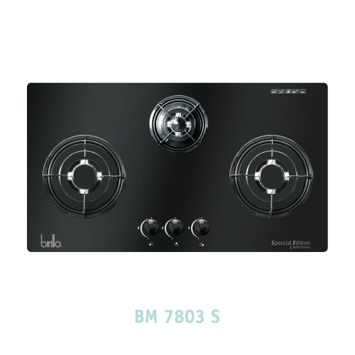 Bếp Gas âm Birillo - Model BM7803S