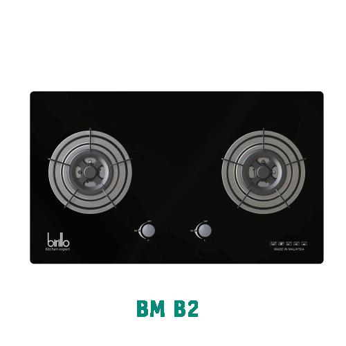 Bếp Gas âm Birillo - Model BMB2