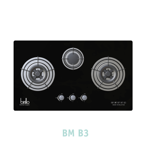 Bếp Gas âm Birillo - Model BMB3