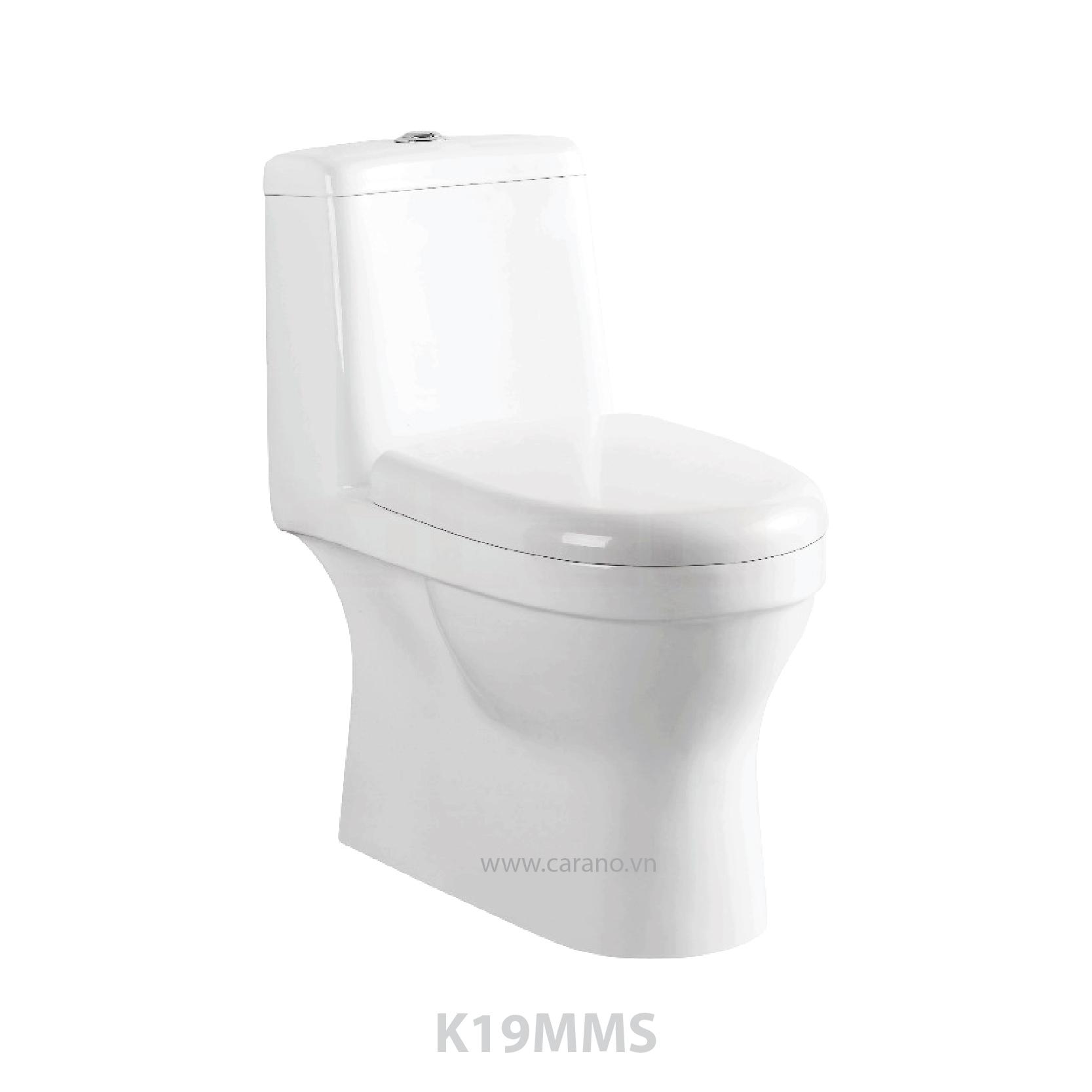 BỒN CẦU 1 KHỐI CARANO K19MMS (Model K19MMS)