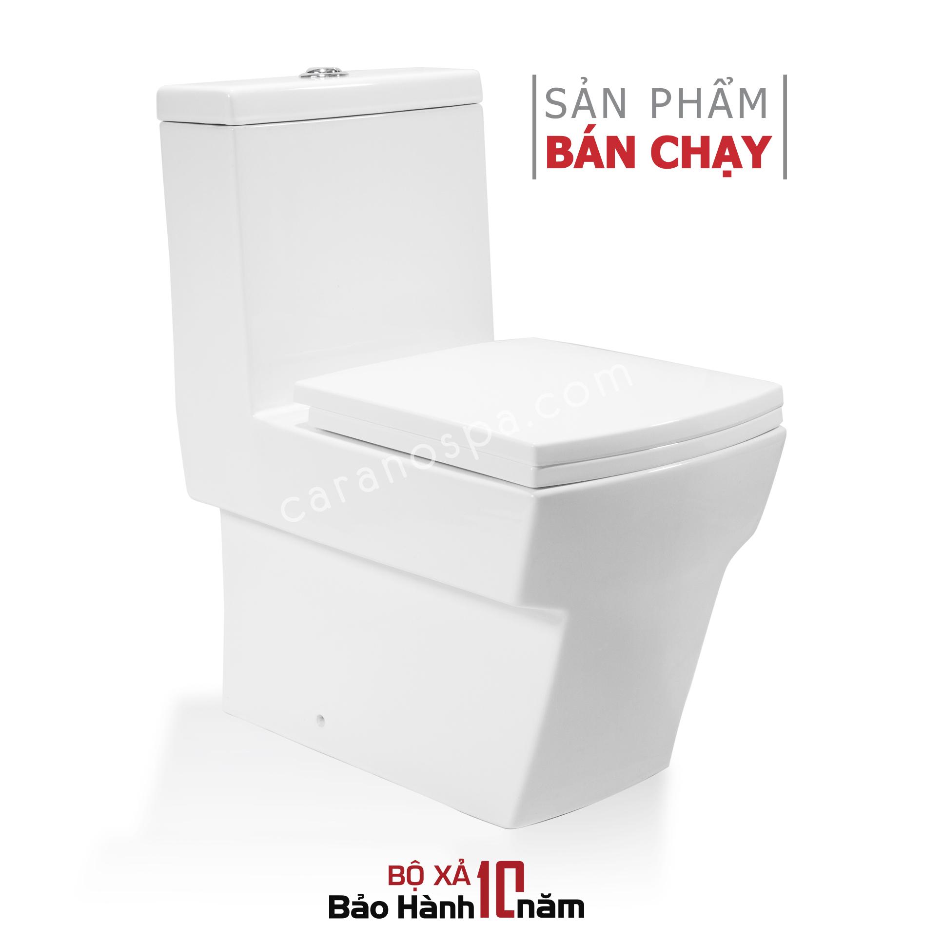 BỒN CẦU CARANO 1 KHỐI K02 (Toilet model : K02)
