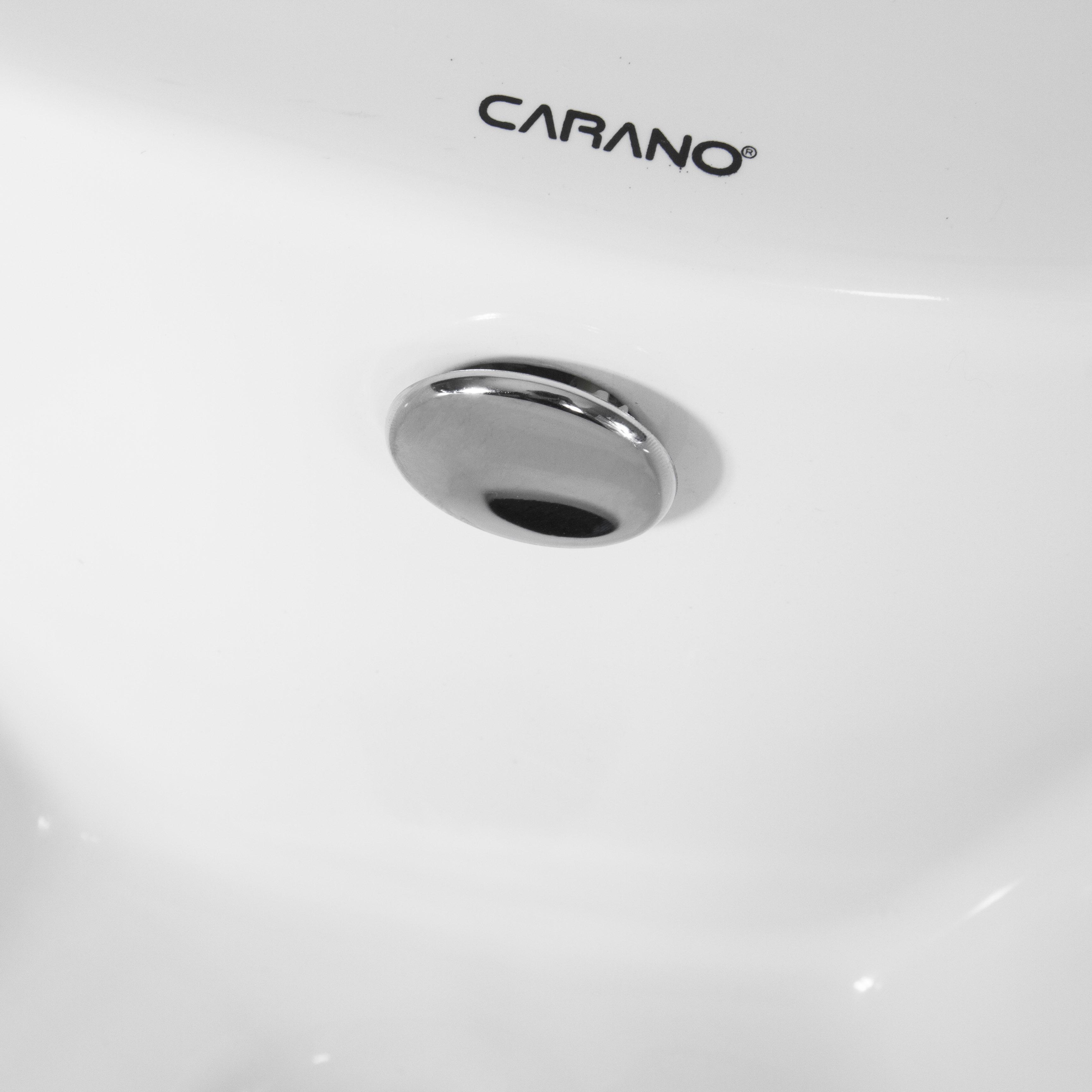 MẶT CHẬU RỬA CARANO K43B2 ( MẶT LAVABO MODEL: K43B2 )