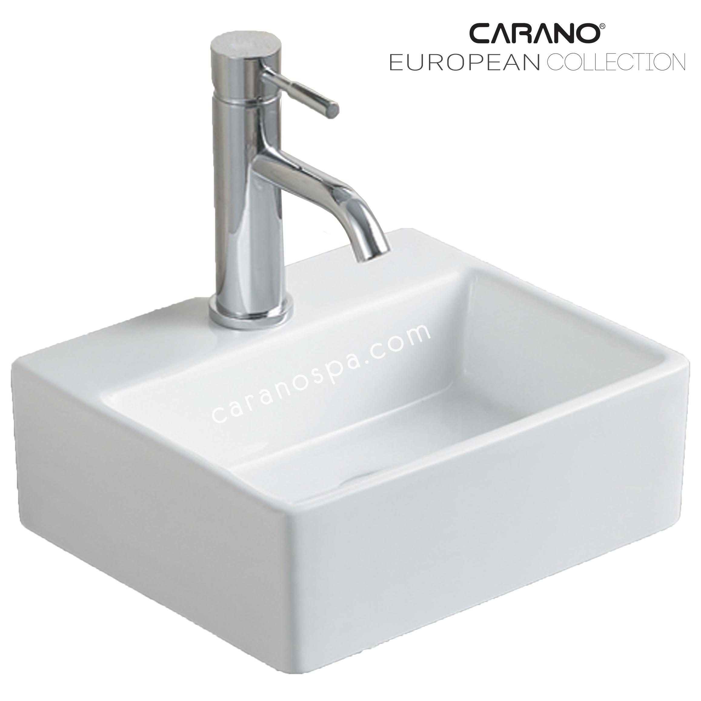 CHẬU RỬA CARANO ĐẶT BÀN LS006 (lavabo model: LS006)