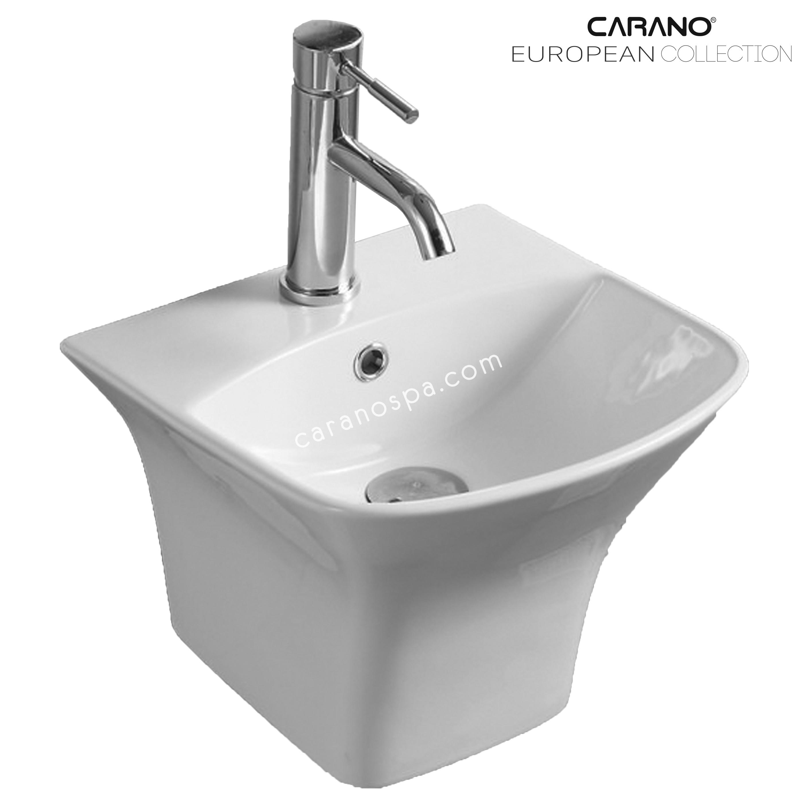 CHẬU RỬA CARANO ĐẶT BÀN LS5200D (lavabo model: LS5200D)