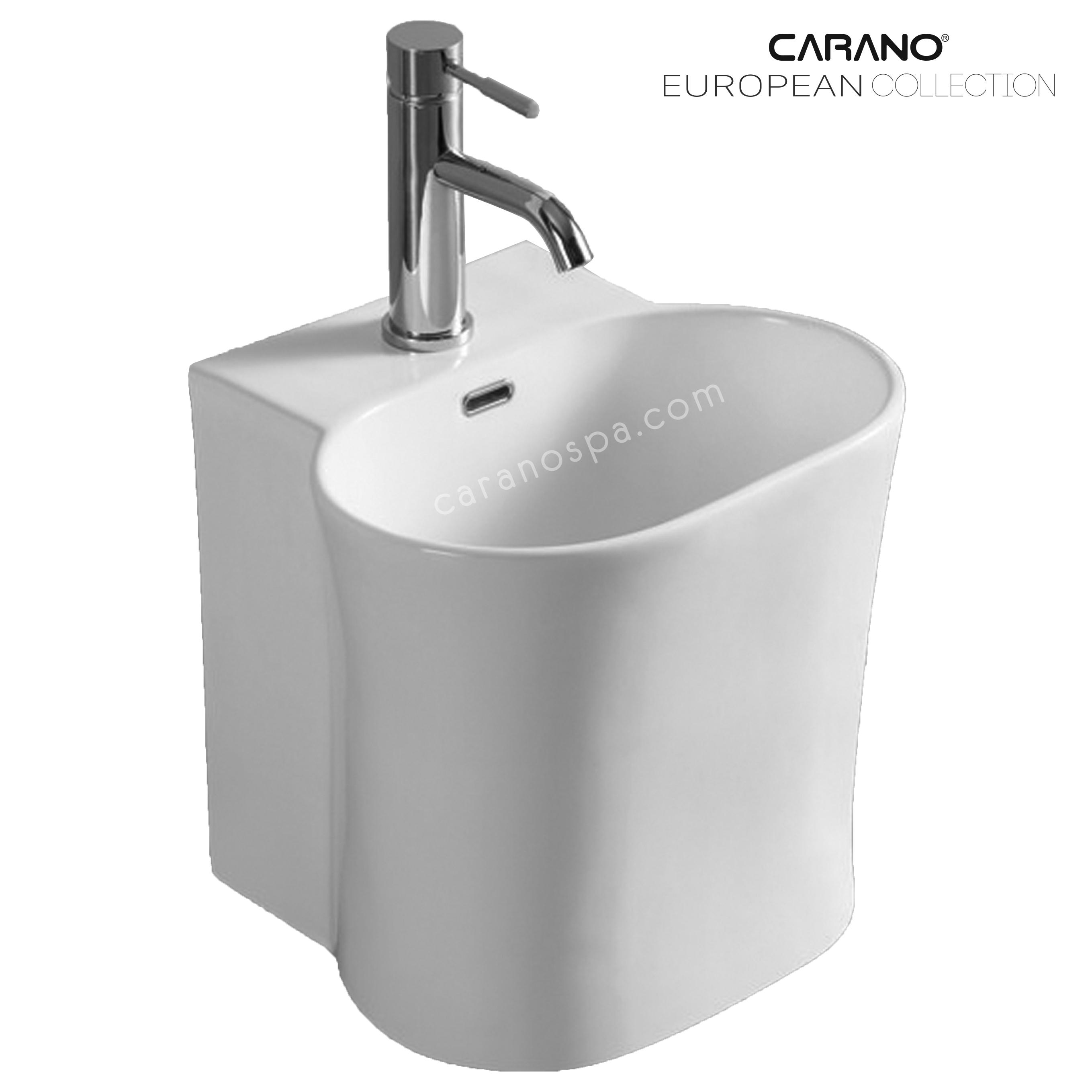 CHẬU RỬA CARANO ĐẶT BÀN LS5700 (lavabo model: LS5700)