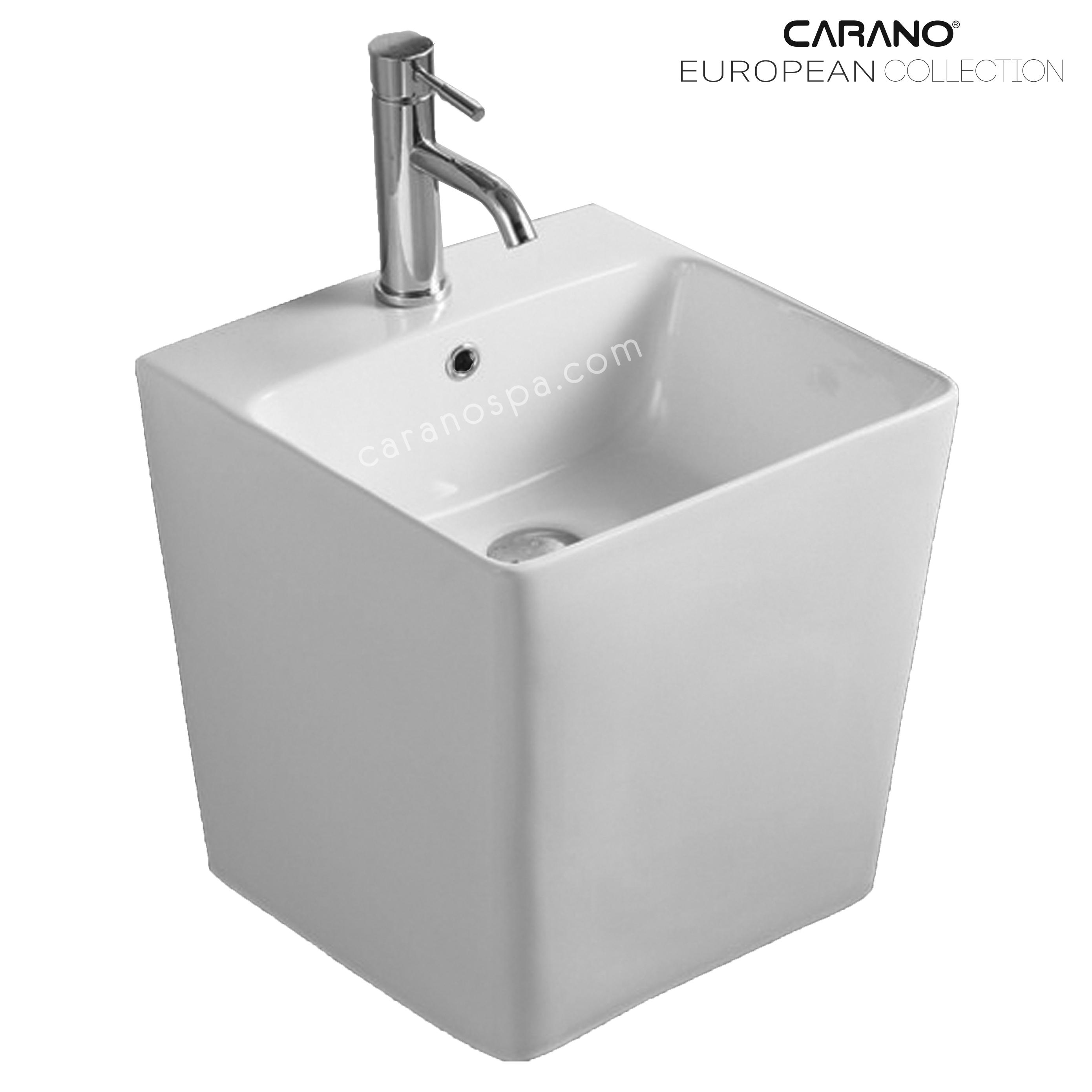 CHẬU RỬA CARANO ĐẶT BÀN LS6400 (lavabo model: LS6400)