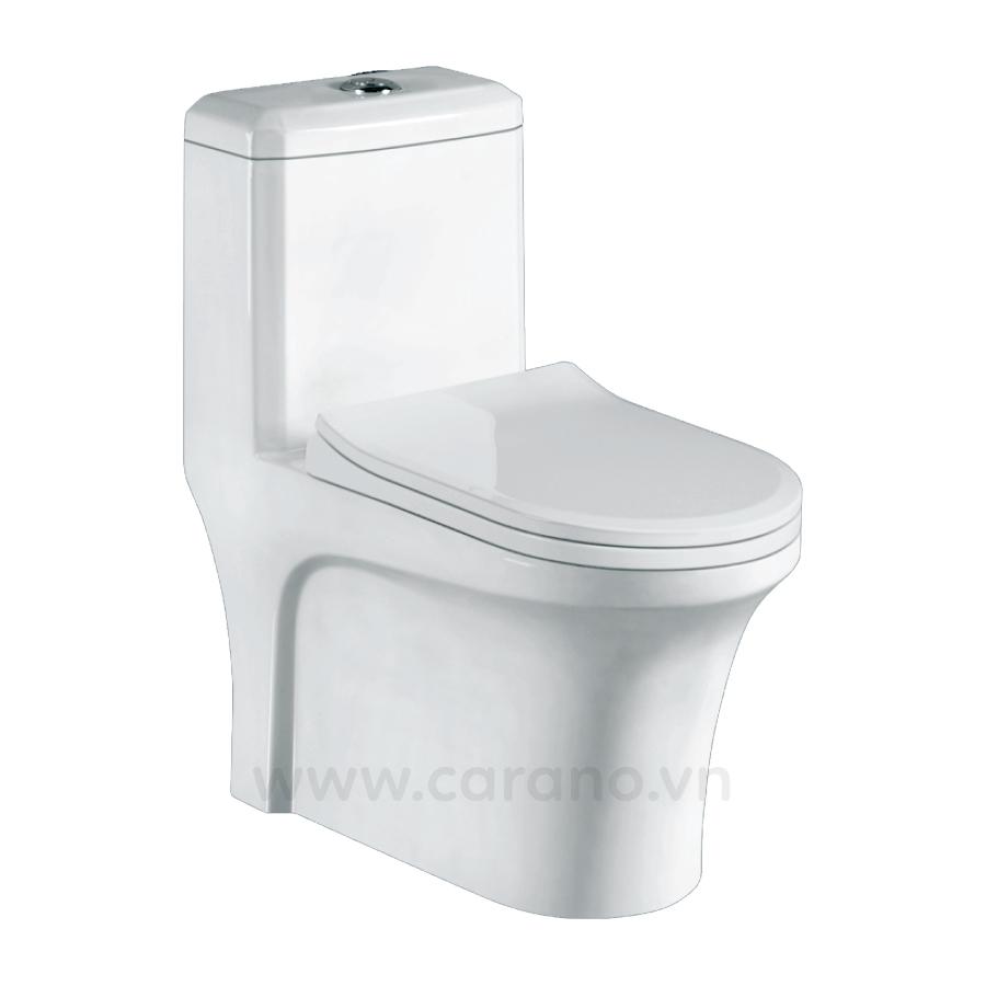 BỒN CẦU NOUVO 1 KHỐI N35KT( Toilet model: N35KT)