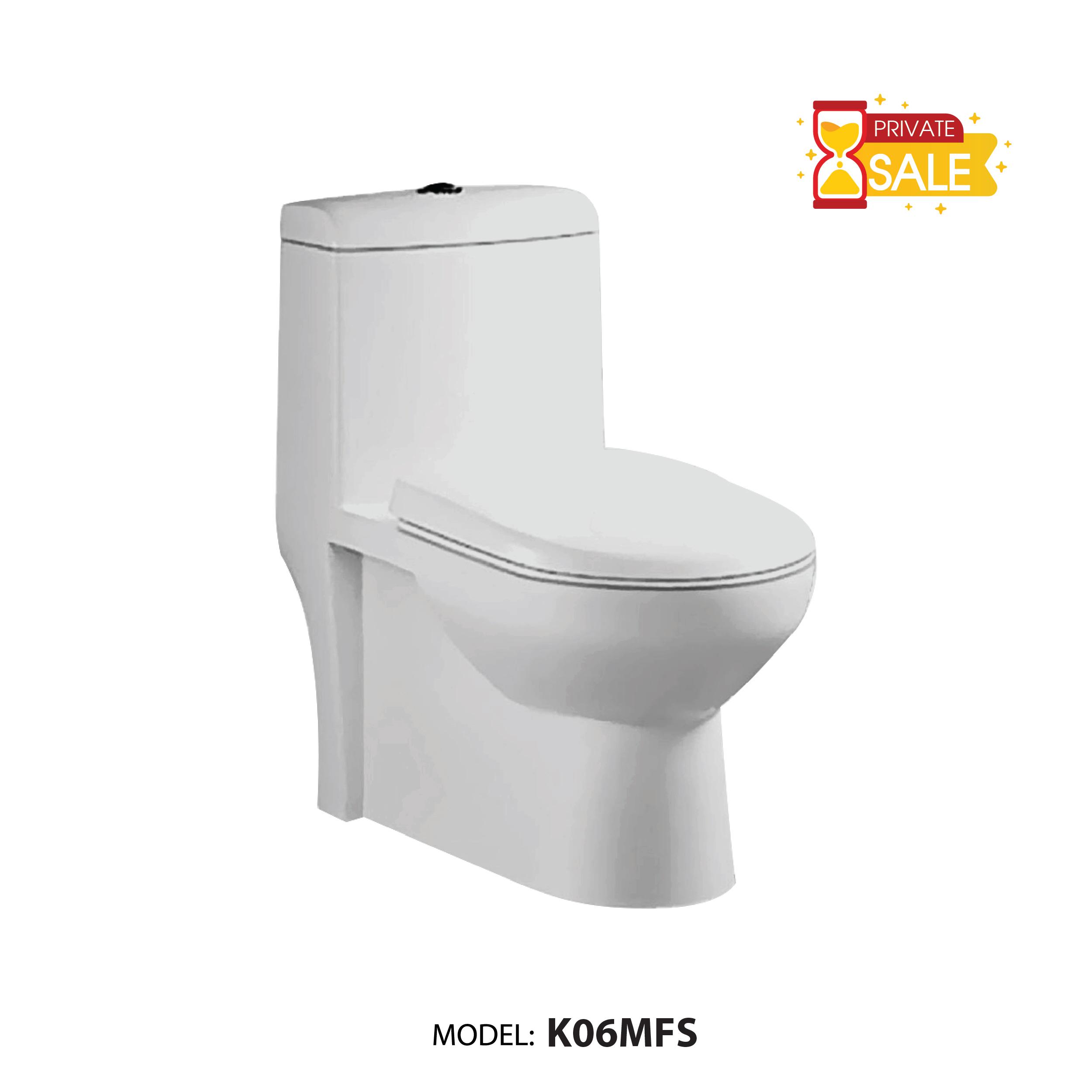 BỒN CẦU 1 KHỐI CARANO MODEL K06MFS (MODEL: K06MFS)