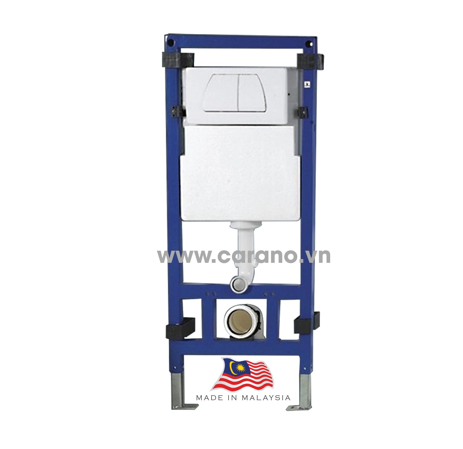 TOILET TREO TƯỜNG CARANO MODEL K25DWU