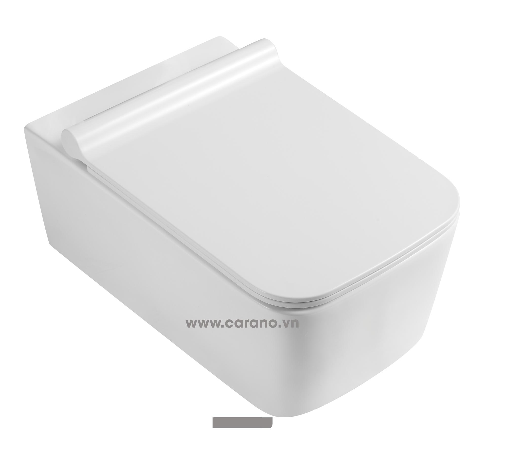 TOILET TREO TƯỜNG CARANO MODEL K22DWU