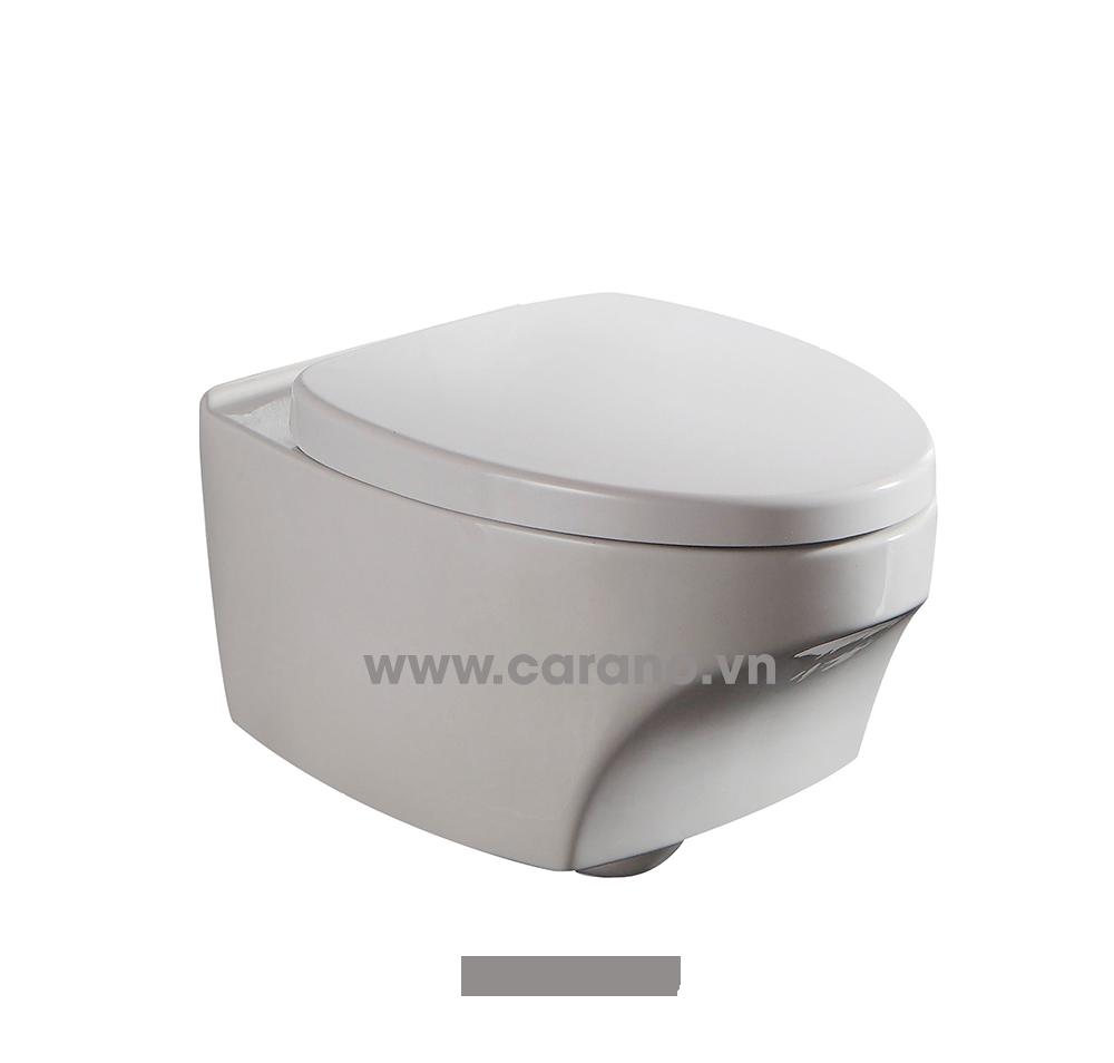 TOILET TREO TƯỜNG CARANO MODEL K24DWU