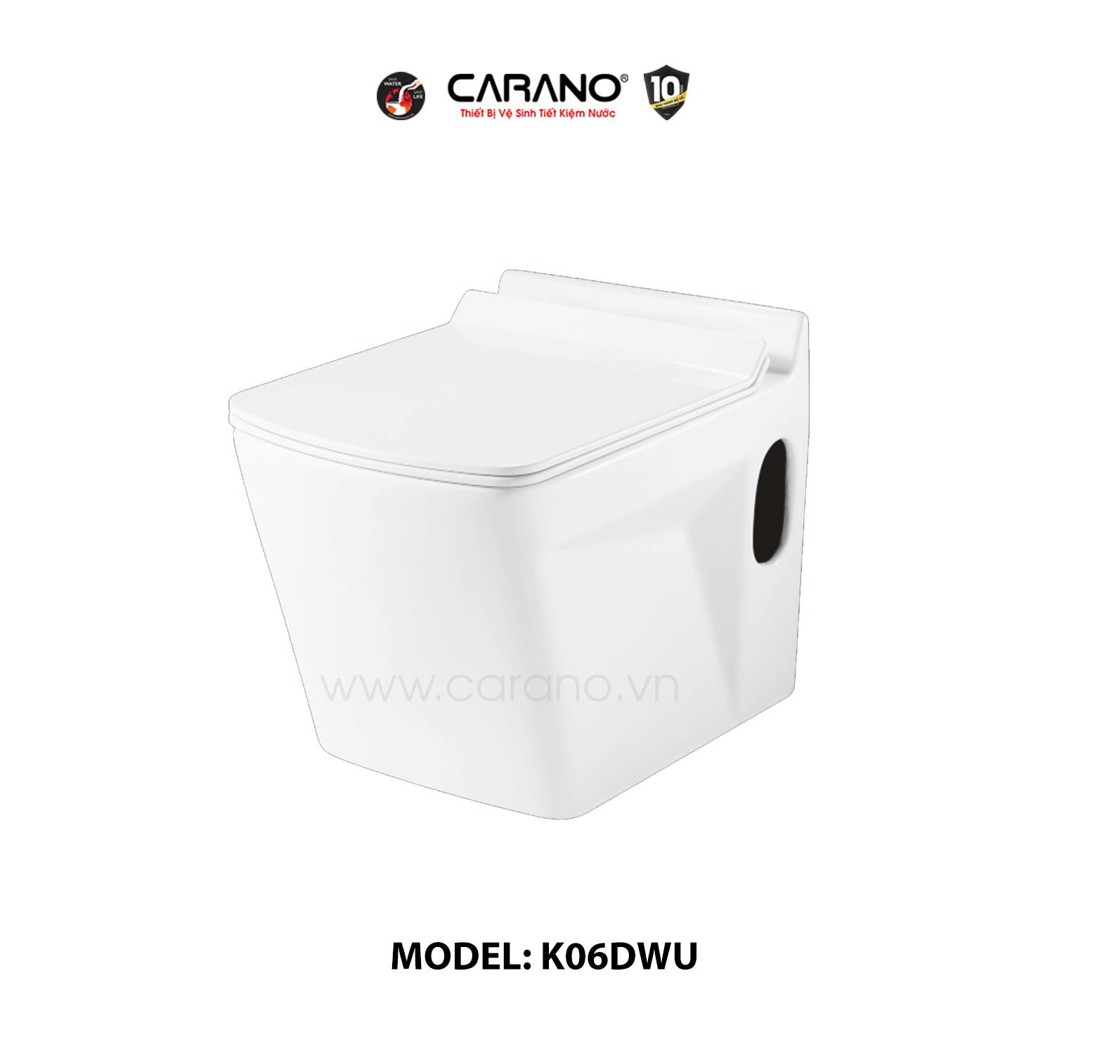TOILET CARANO MODEL K06DWU