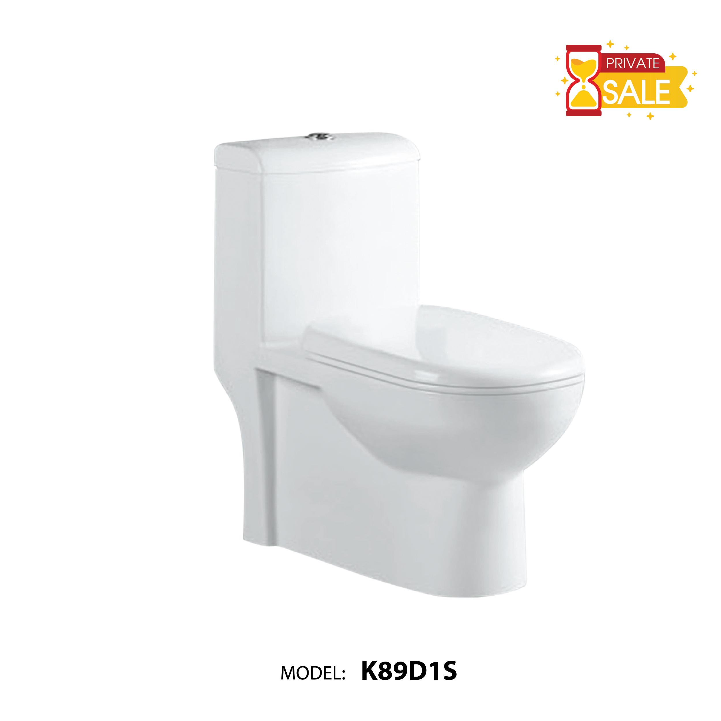 BỒN CẦU CARANO 1 KHỐI K89D1S ( TOILET MODEL: K89D1S )
