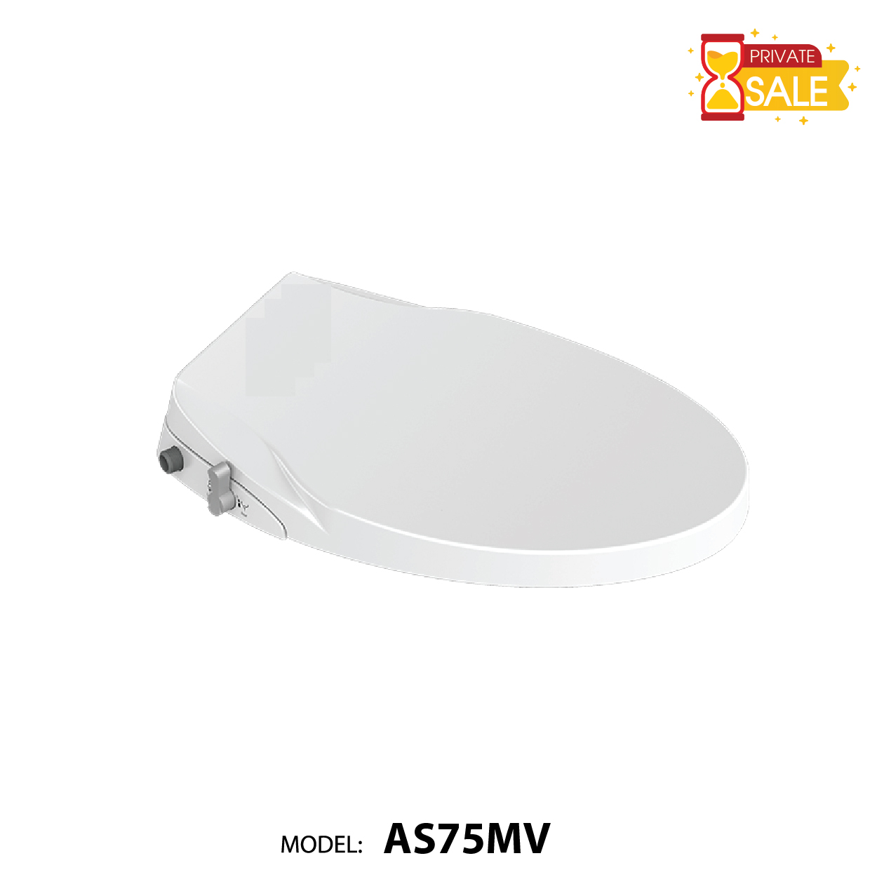 NẮP TOILET THÔNG MINH CARANO AS75MV (Smart Toilet Sit AS75MV)