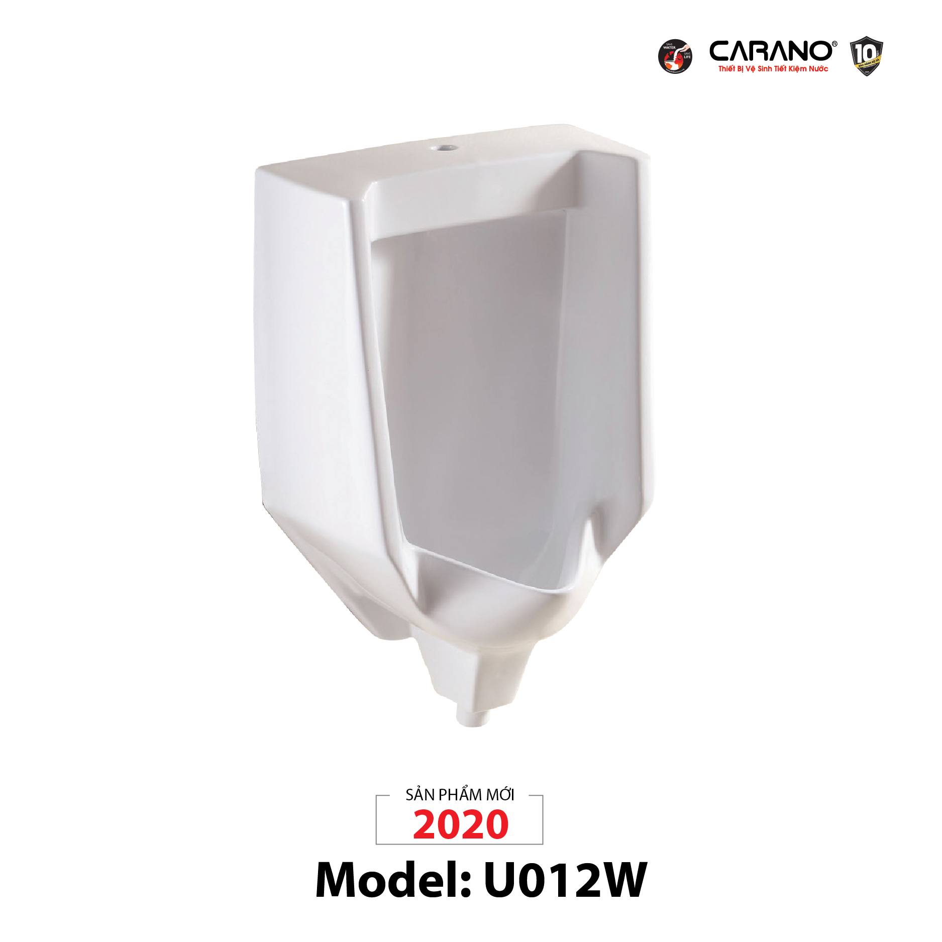 BỒN TIỂU NAM MODEL U012W (TOILET MODEL: U012W)