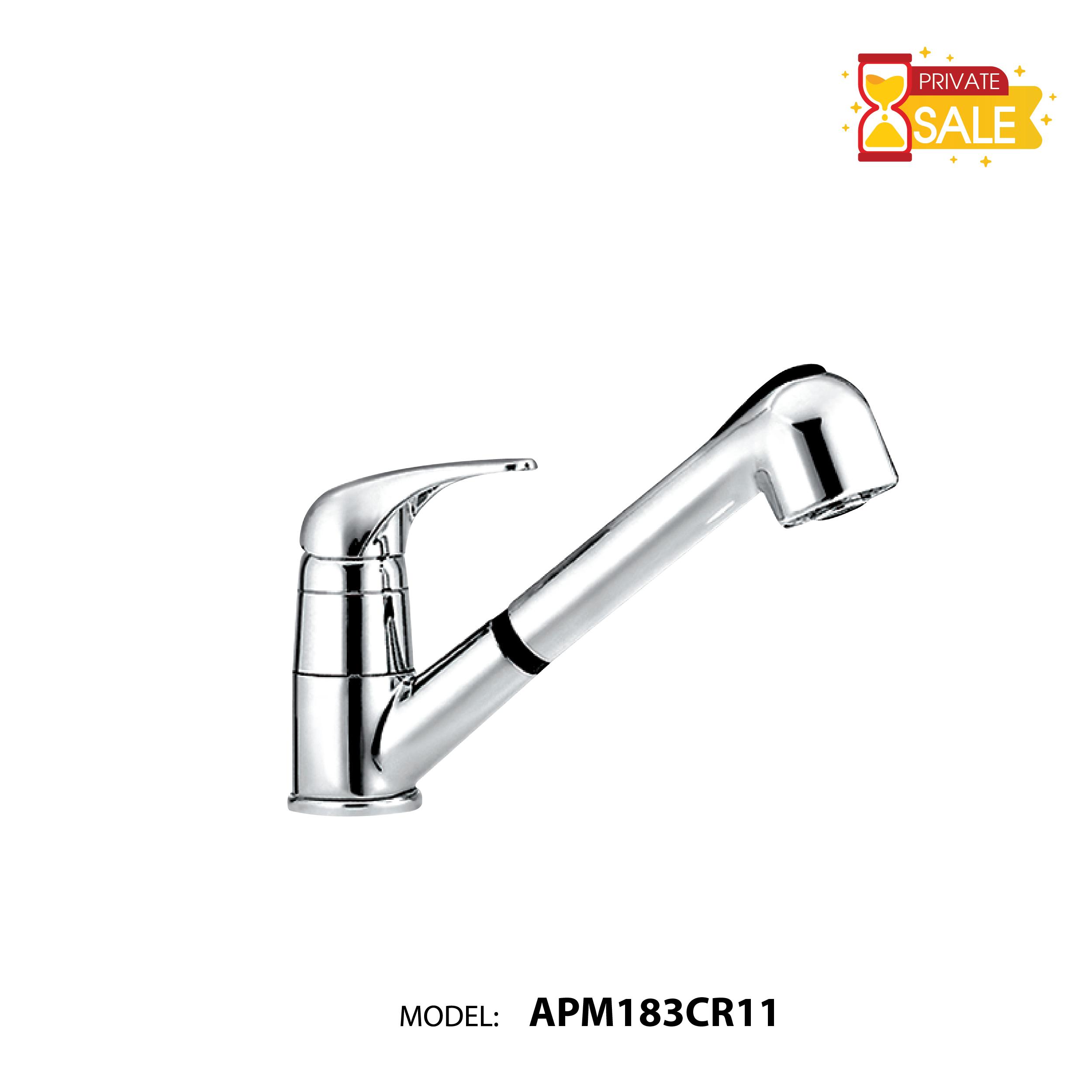 VÒI CHẬU NÓNG LẠNH PAFFONI APM183CR11 (Vòi lavabo model: APM183CR11)