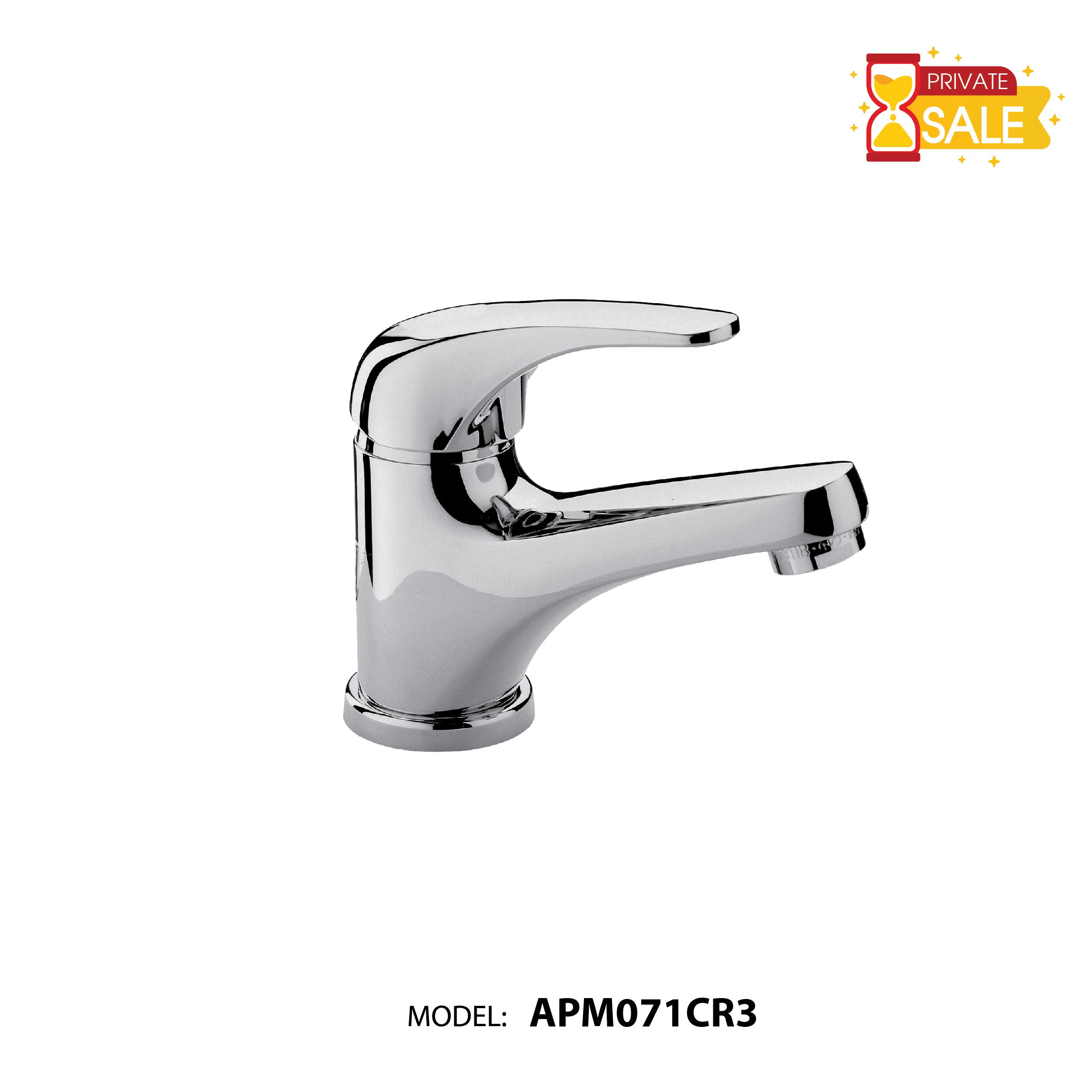 VÒI CHẬU NÓNG LẠNH PAFFONI APM071CR3(Vòi lavabo model: APM071CR3)