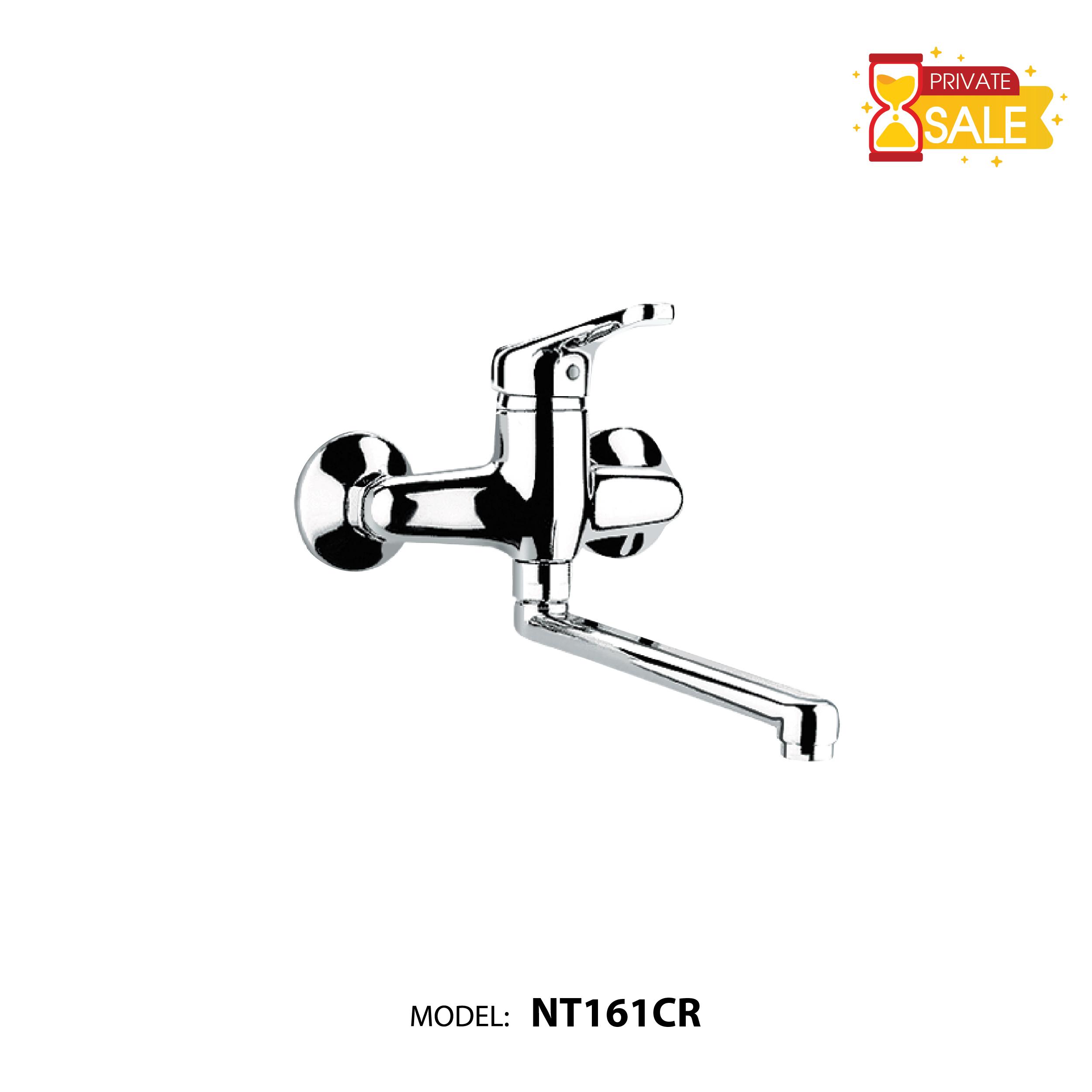 VÒI SEN GẮN TƯỜNG NÓNG LẠNH PAFFONI NT161CR (Vòi gắn tường model: NT161CR)