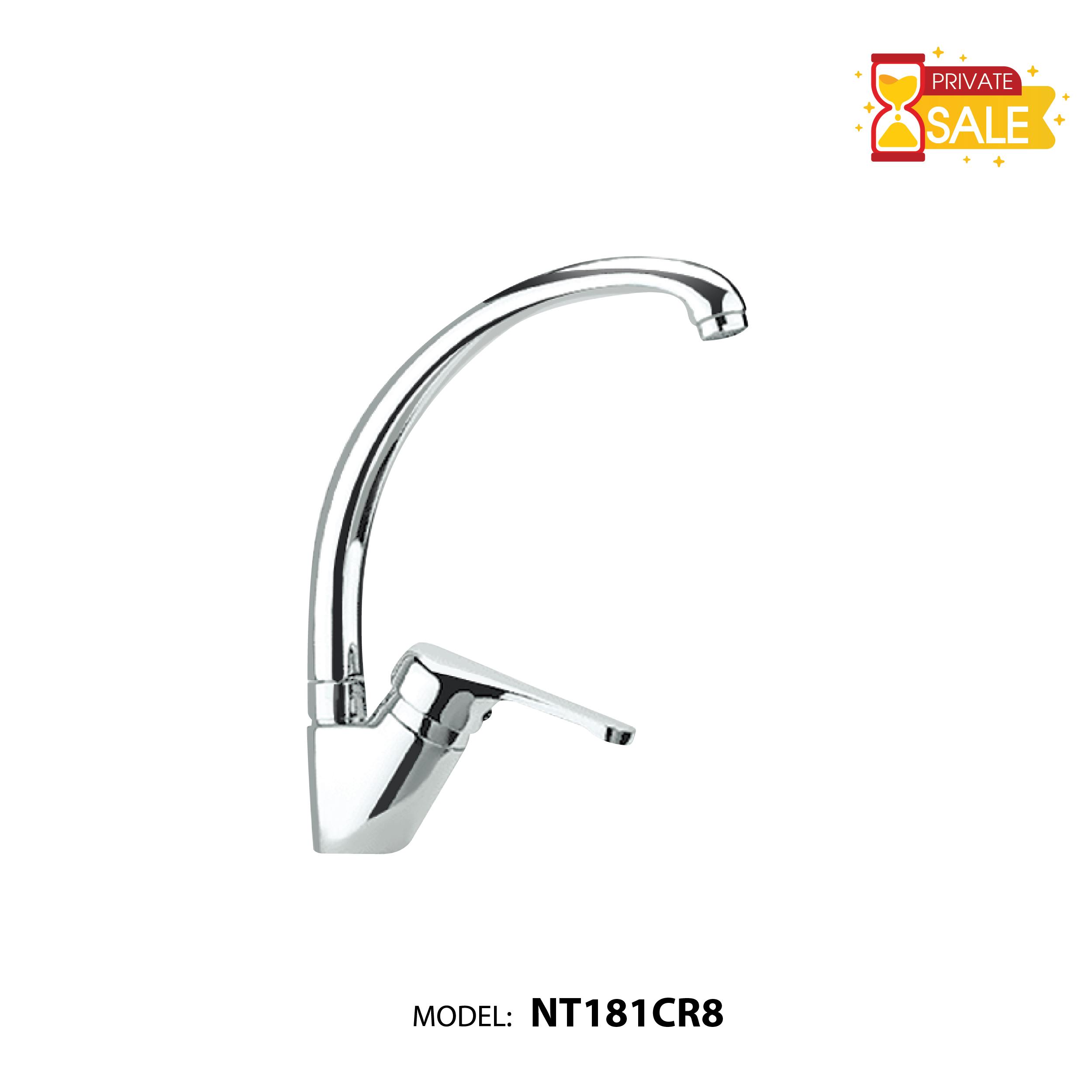 VÒI CHẬU NÓNG LẠNH PAFFONI NT181CR8 (Vòi lavabo model: NT181CR8)