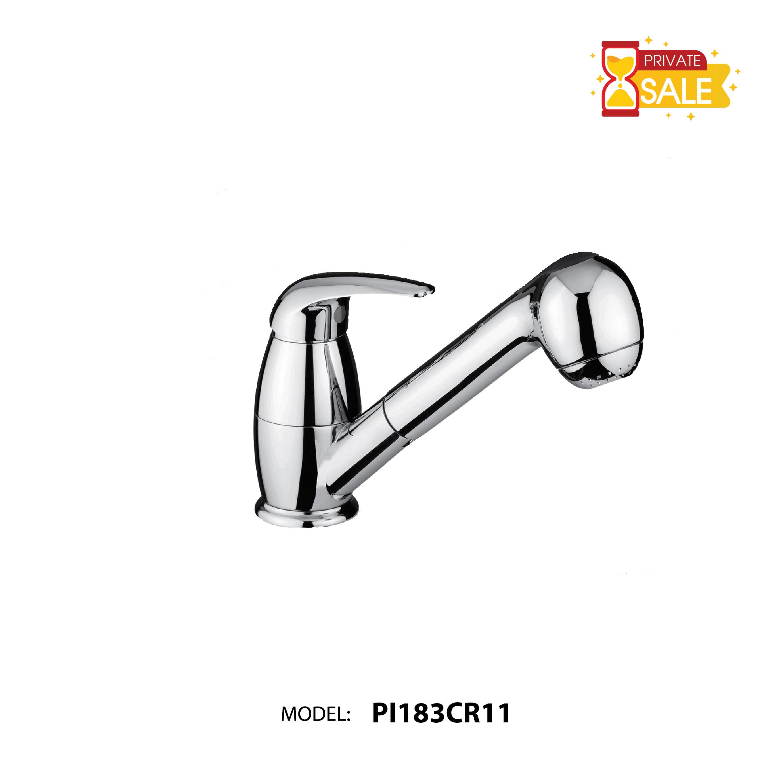 VÒI CHẬU NÓNG LẠNH PAFFONI PI183CR11 (Vòi lavabo model: PI183CR11)