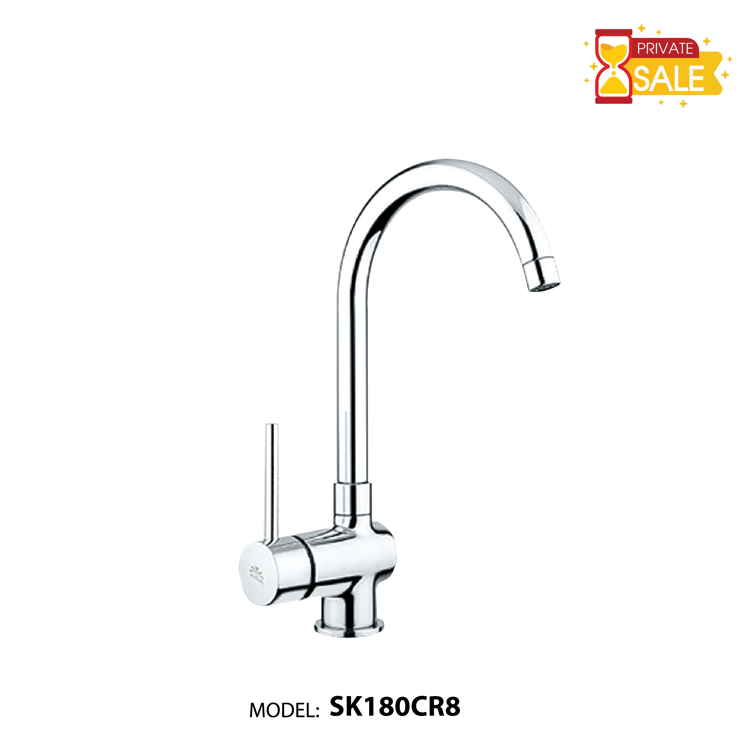 VÒI CHẬU NÓNG LẠNH PAFFONI SK180CR8 (Vòi lavabo model: SK180CR8)