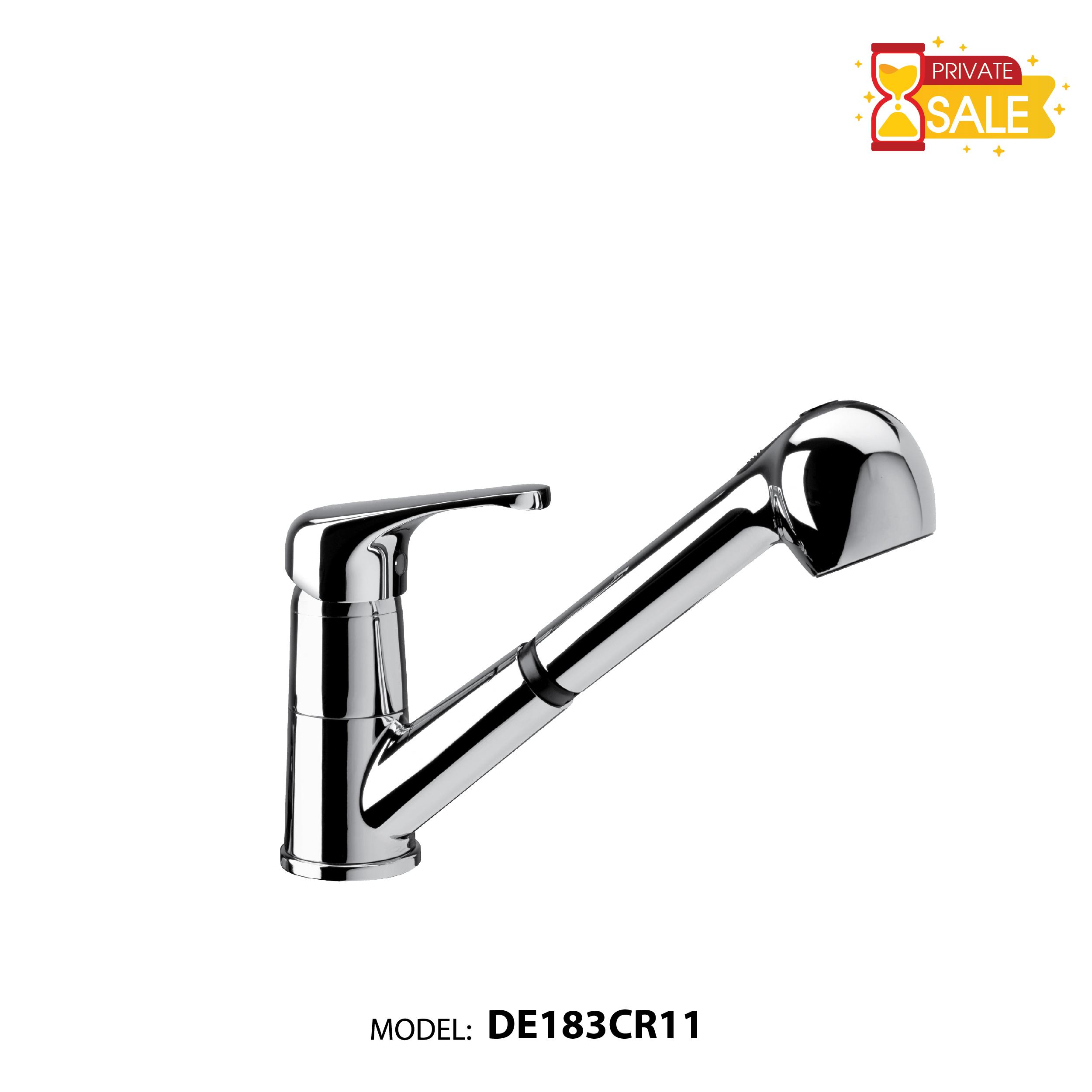VÒI CHẬU NÓNG LẠNH PAFFONI DE183CR11 (Vòi lavabo model: DE183CR11)