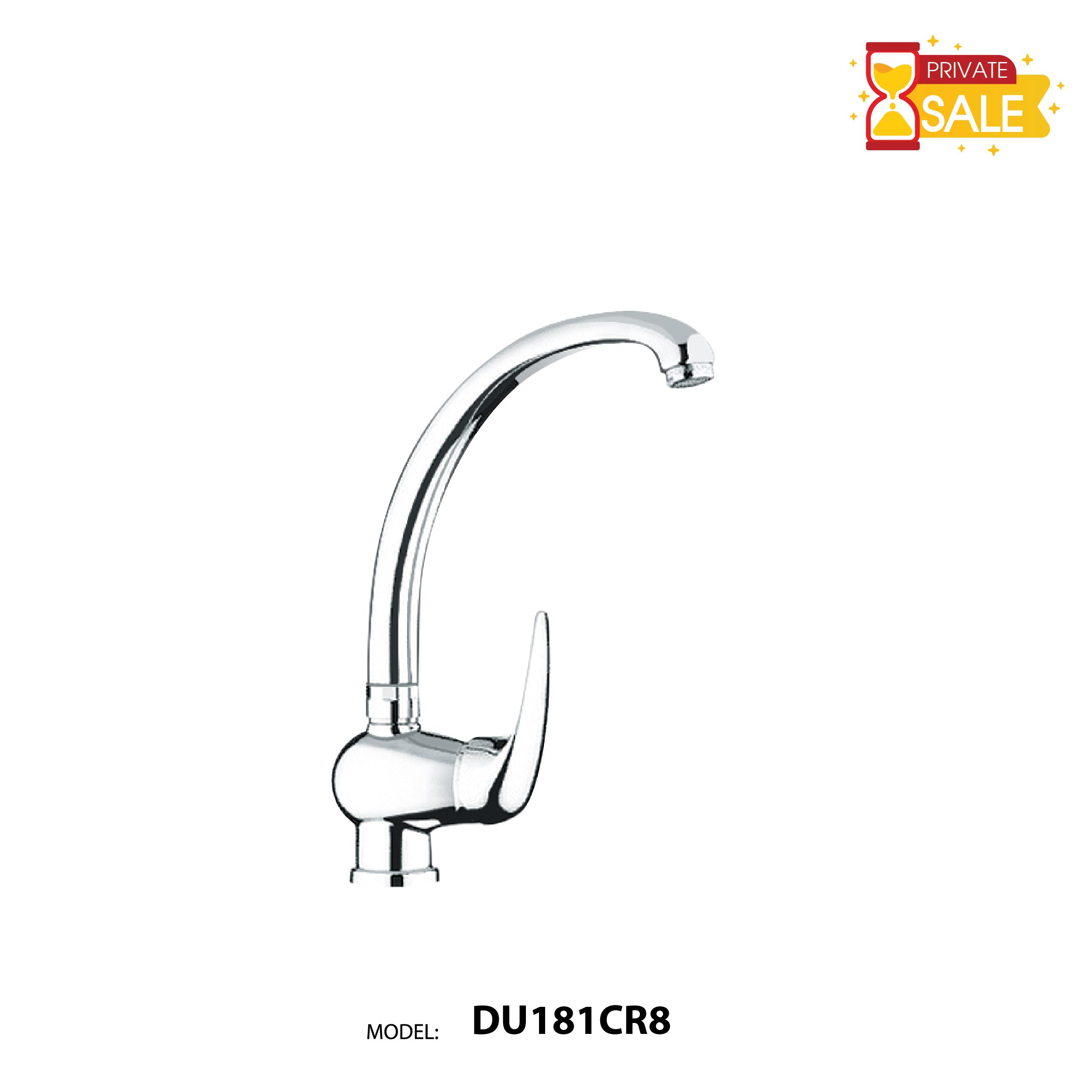 VÒI CHẬU NÓNG LẠNH PAFFONI DU181CR8 (Vòi lavabo model: DU181CR8)