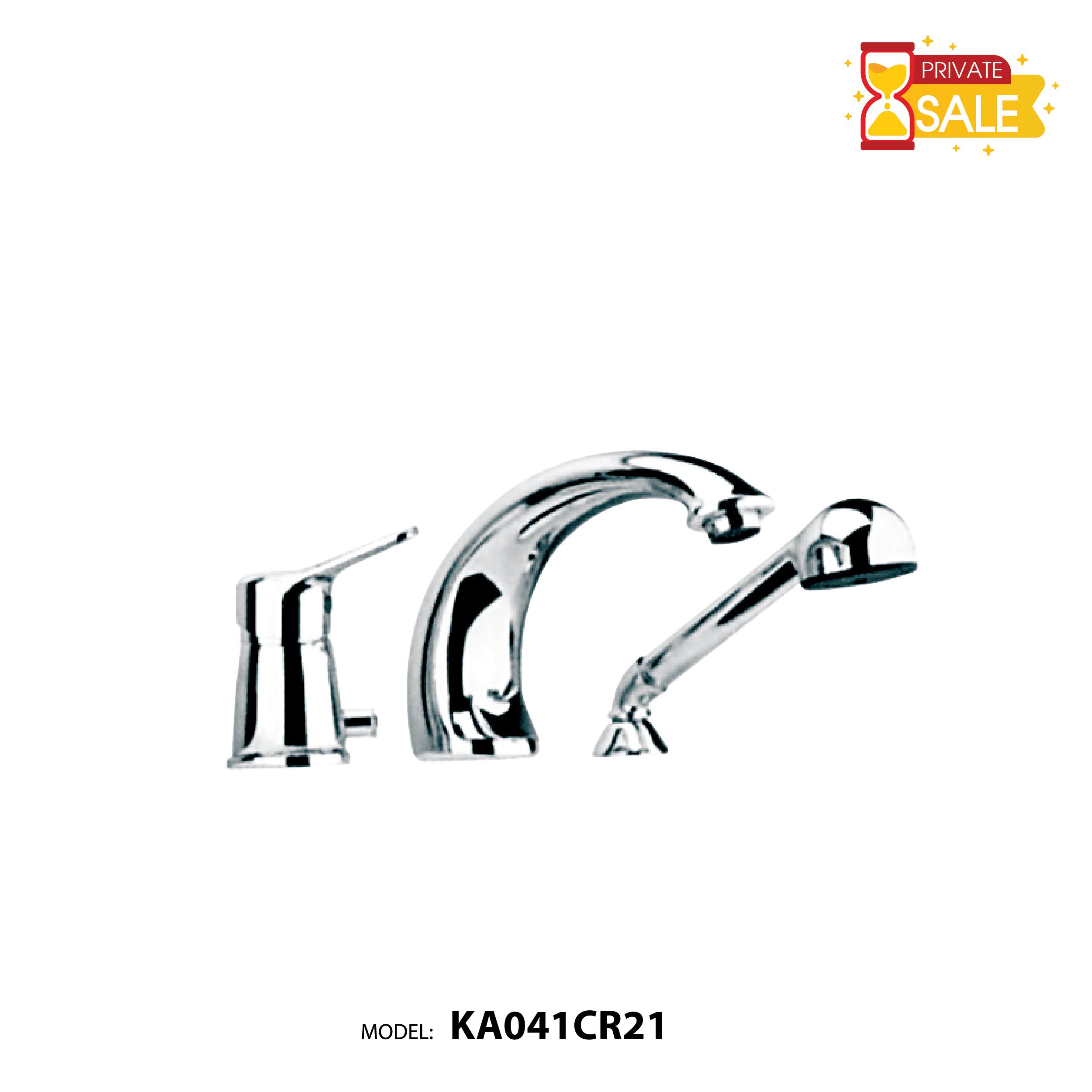 VÒI BỒN TẮM NÓNG LẠNH PAFFONI KA041CR21(Vòi bồn tắm model: KA041CR21)