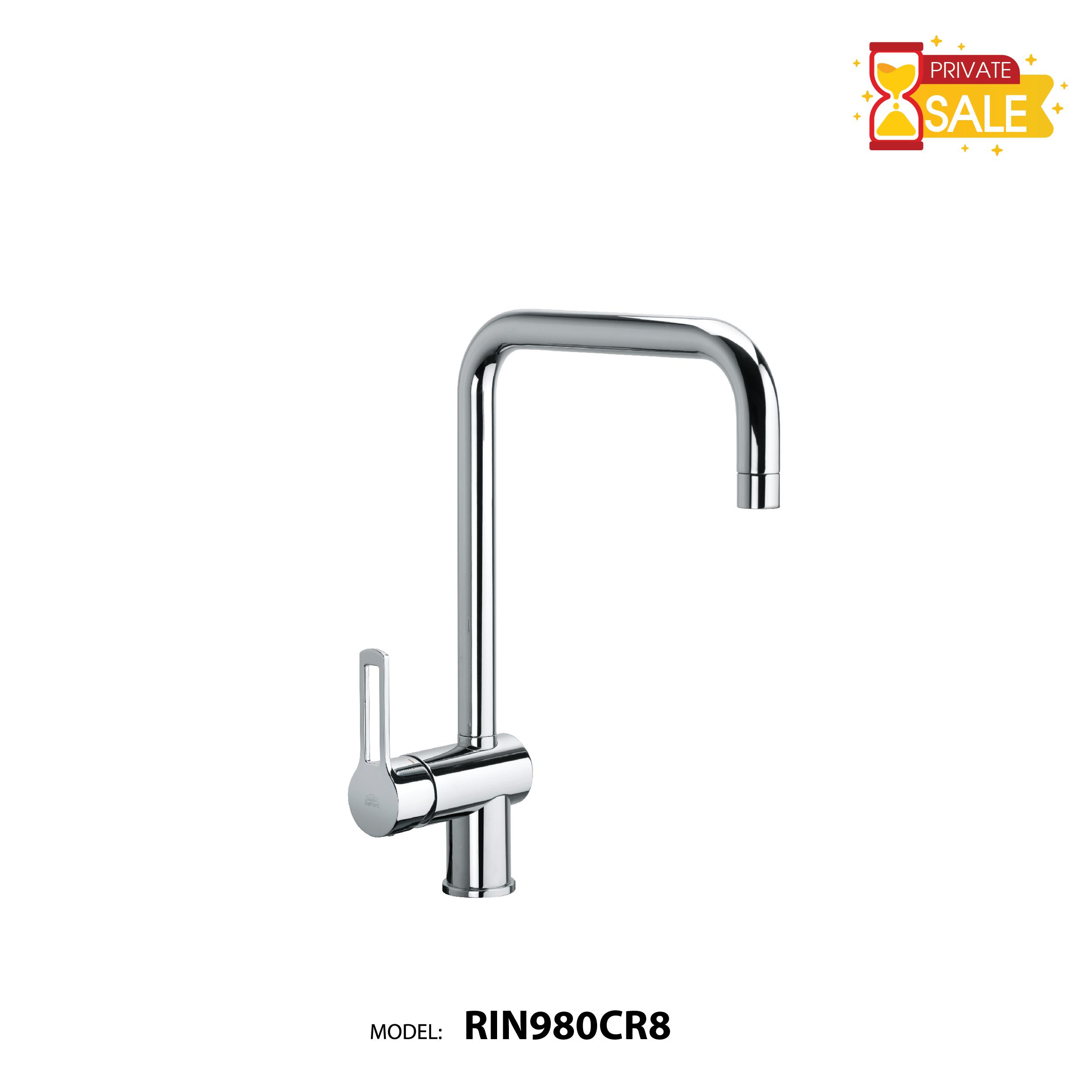 VÒI CHẬU NÓNG LẠNH PAFFONI RIN980CR8 (Vòi lavabo model: RIN980CR8)