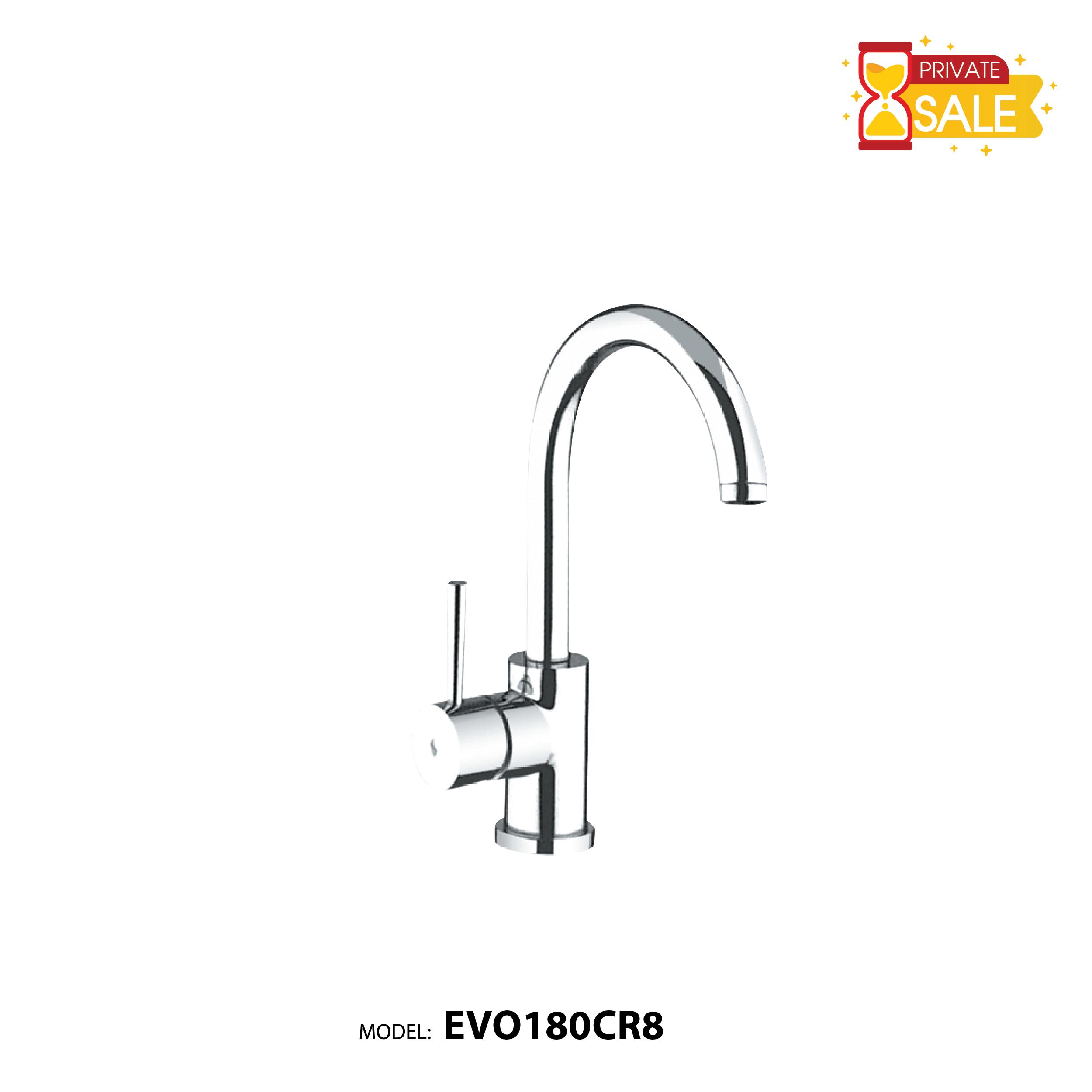 VÒI CHẬU NÓNG LẠNH PAFFONI EVO180CR8 (Vòi lavabo model: EVO180CR8)