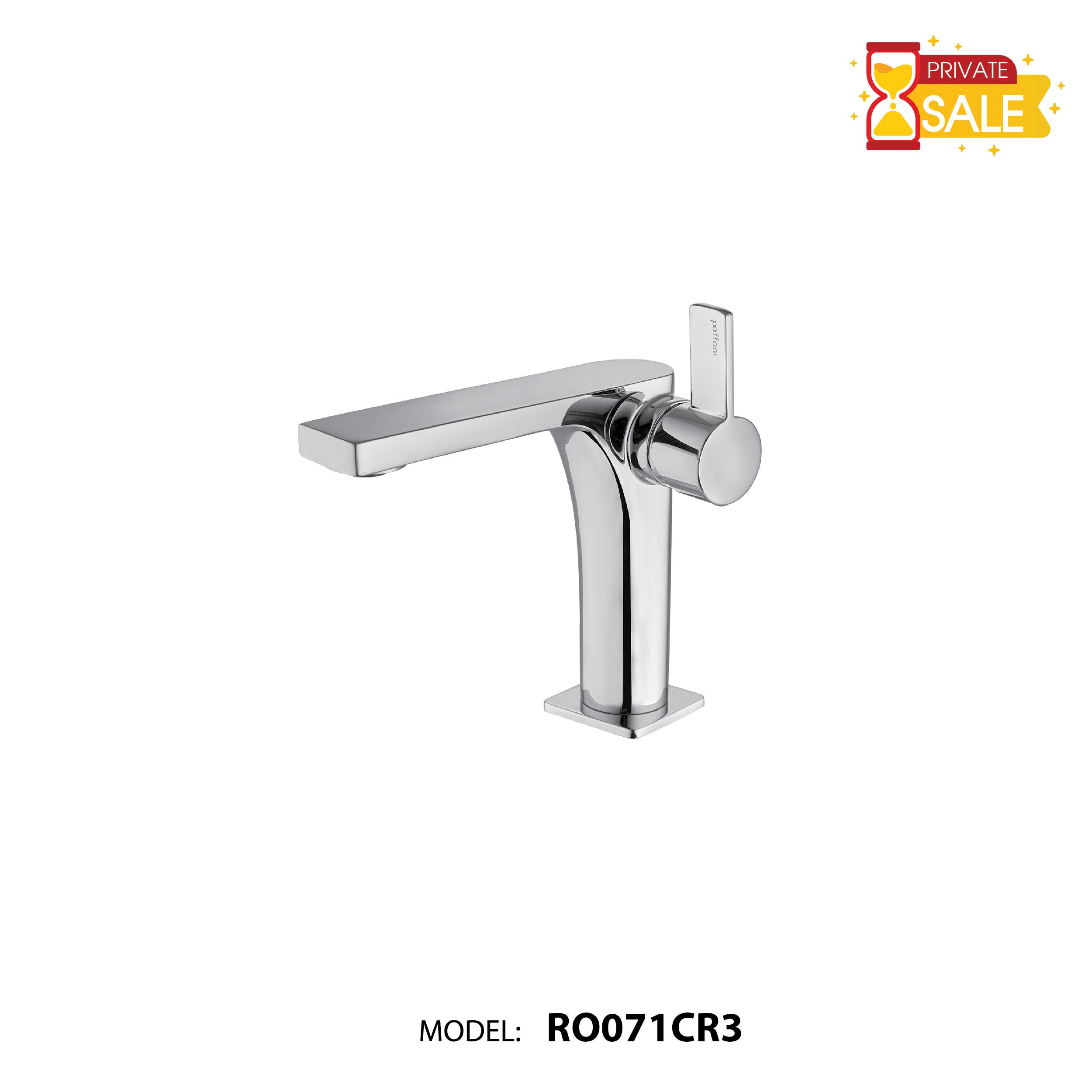 VÒI CHẬU NÓNG LẠNH PAFFONI RO071CR3 (Vòi lavabo model: RO071CR3)