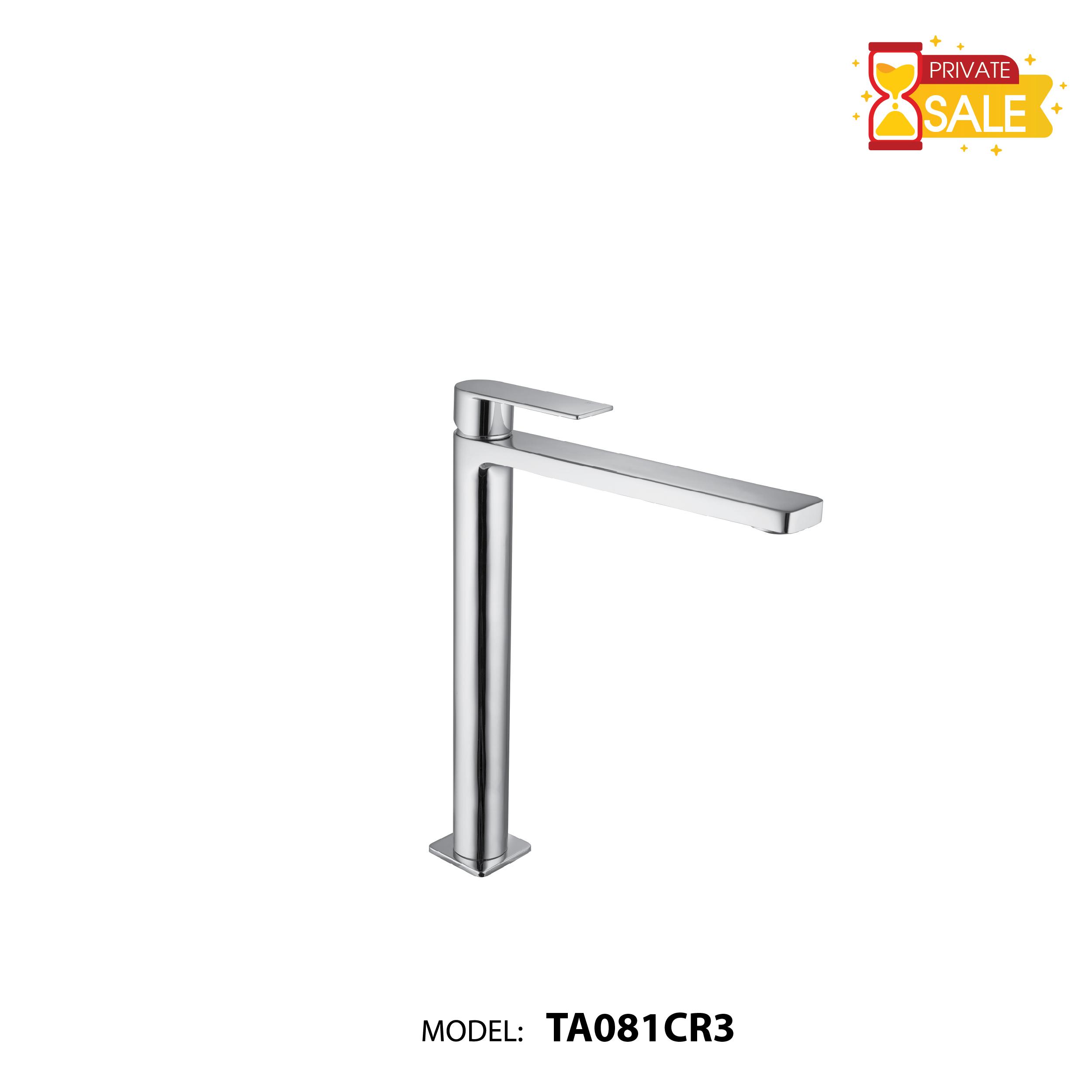 VÒI CHẬU NÓNG LẠNH PAFFONI TA081CR3 (Vòi lavabo model: TA081CR3)