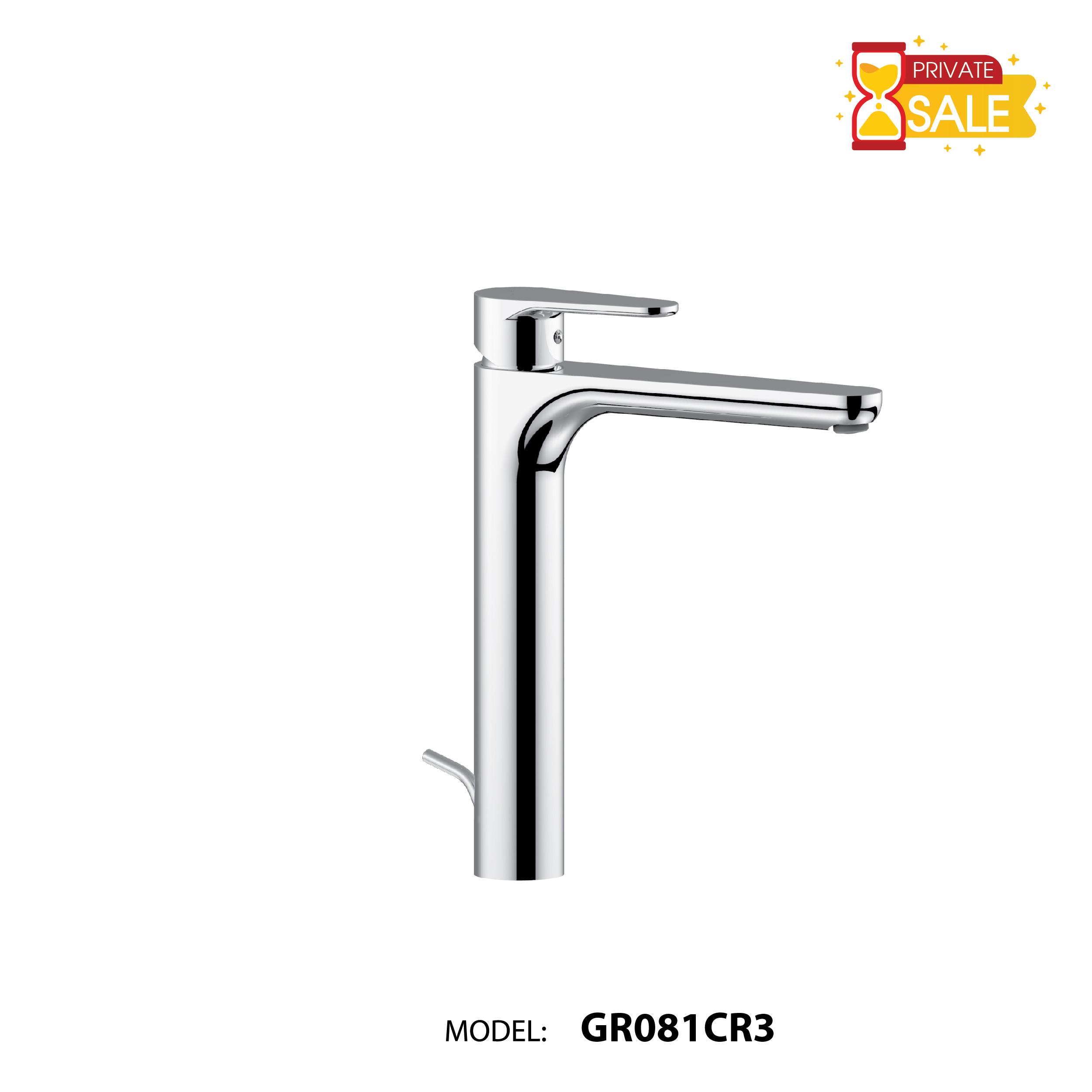 VÒI CHẬU NÓNG LẠNH PAFFONI GR081CR3 (Vòi lavabo model: GR081CR3)