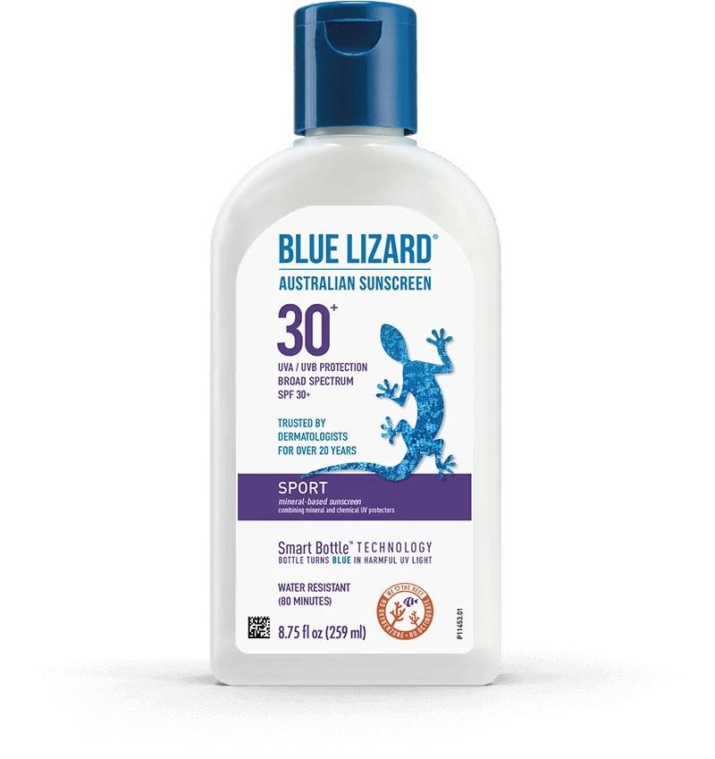 Kem chống nắng thể thao Blue Lizard Australian Sunscreen Sport Original SPF30 259ml