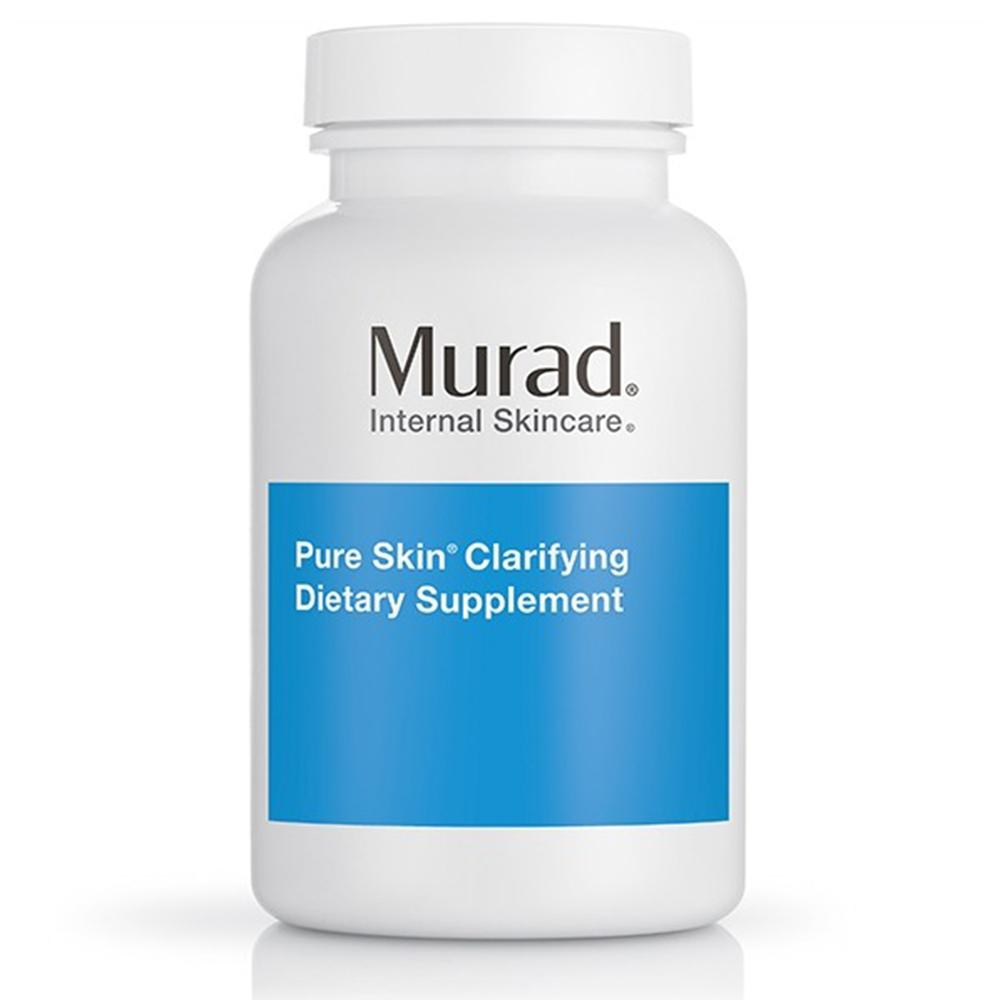 (Date 07/2021) Viên uống trị mụn Murad Pure Skin Clarifying Dietary Supplement