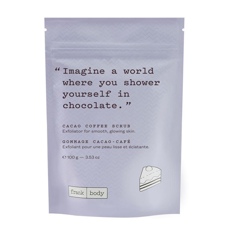 Tẩy da chết cacao cà phê Frank Body Cacao Coffee Scrub 100g