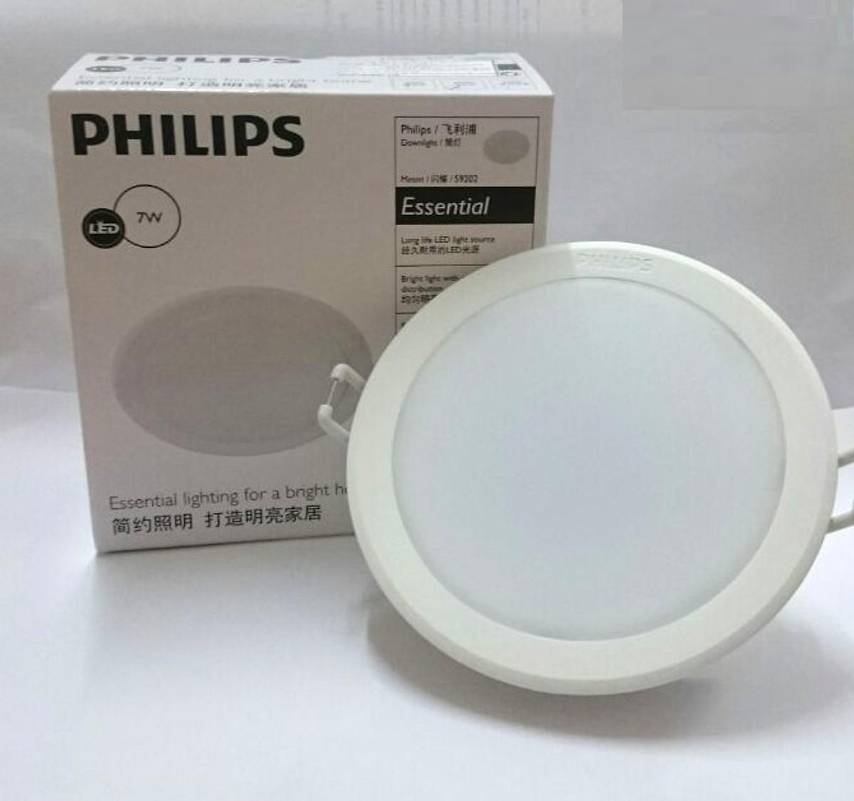 Đèn Led âm trần Philips 59448 MESON 7W D105