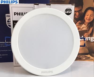 Đèn Led âm trần Philips DN027B G2 D100 7W tròn