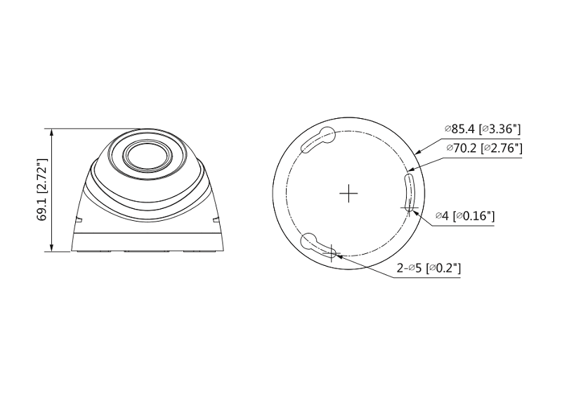Camera dome GSK-SP6420F-FHD