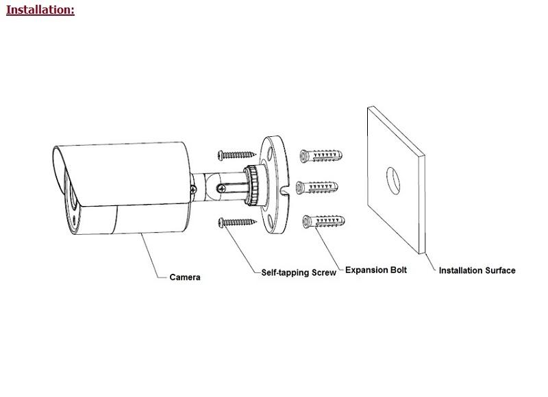 Camera thân GSK-SP7310F-FHD