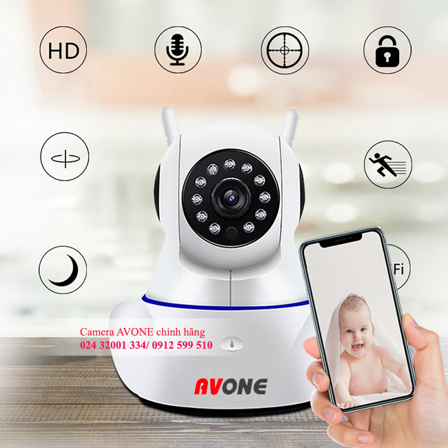 Camera avone wifi 2Mp