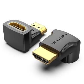 Đầu nối HDMI to HDMI vuông góc 90 độ Vention