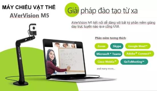 Máy chiếu vật thể Aver Vision M5 - dùng cho đào tạo trực tuyến