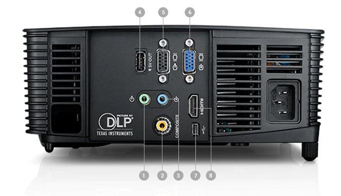 Máy chiếu Dell 1550