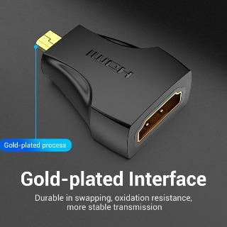 Đầu chuyển Micro HDMI to HDMI Vention