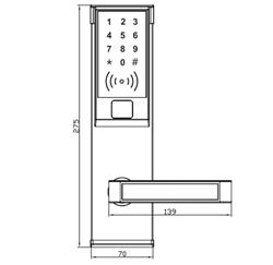 Khóa Mật Mã  VN-8036M VNLOCK
