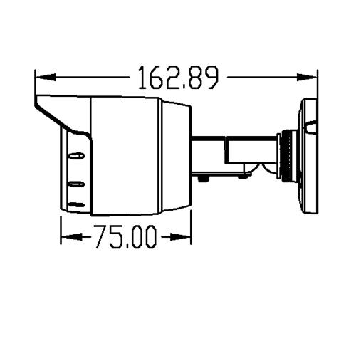 Camera HD trụ hồng ngoại 4MP AVone AV-A400R30B